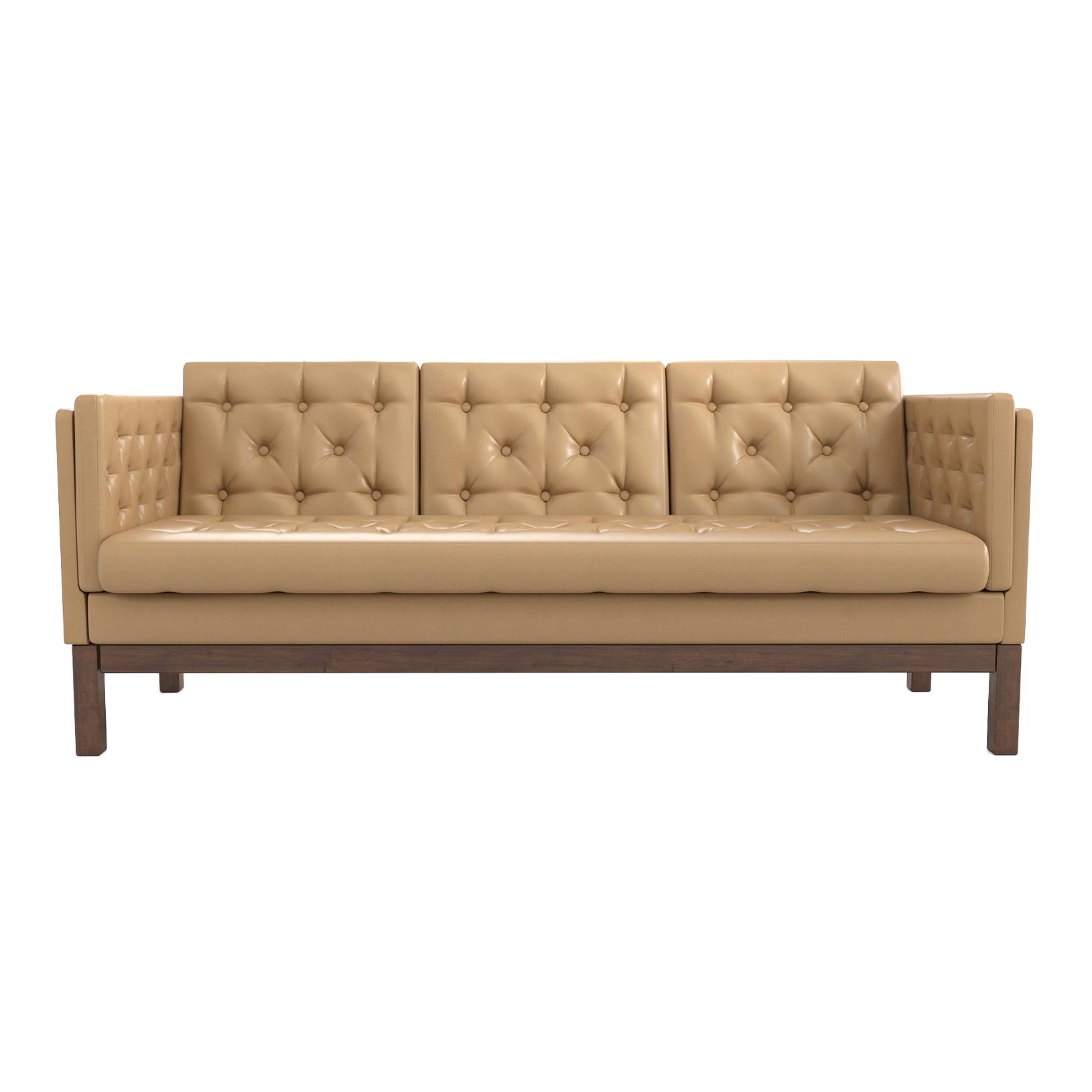 Фото - Диван AS Алана б 193x82x83 орех/кремовый диван as алана м 154x82x83 сосна коричневый