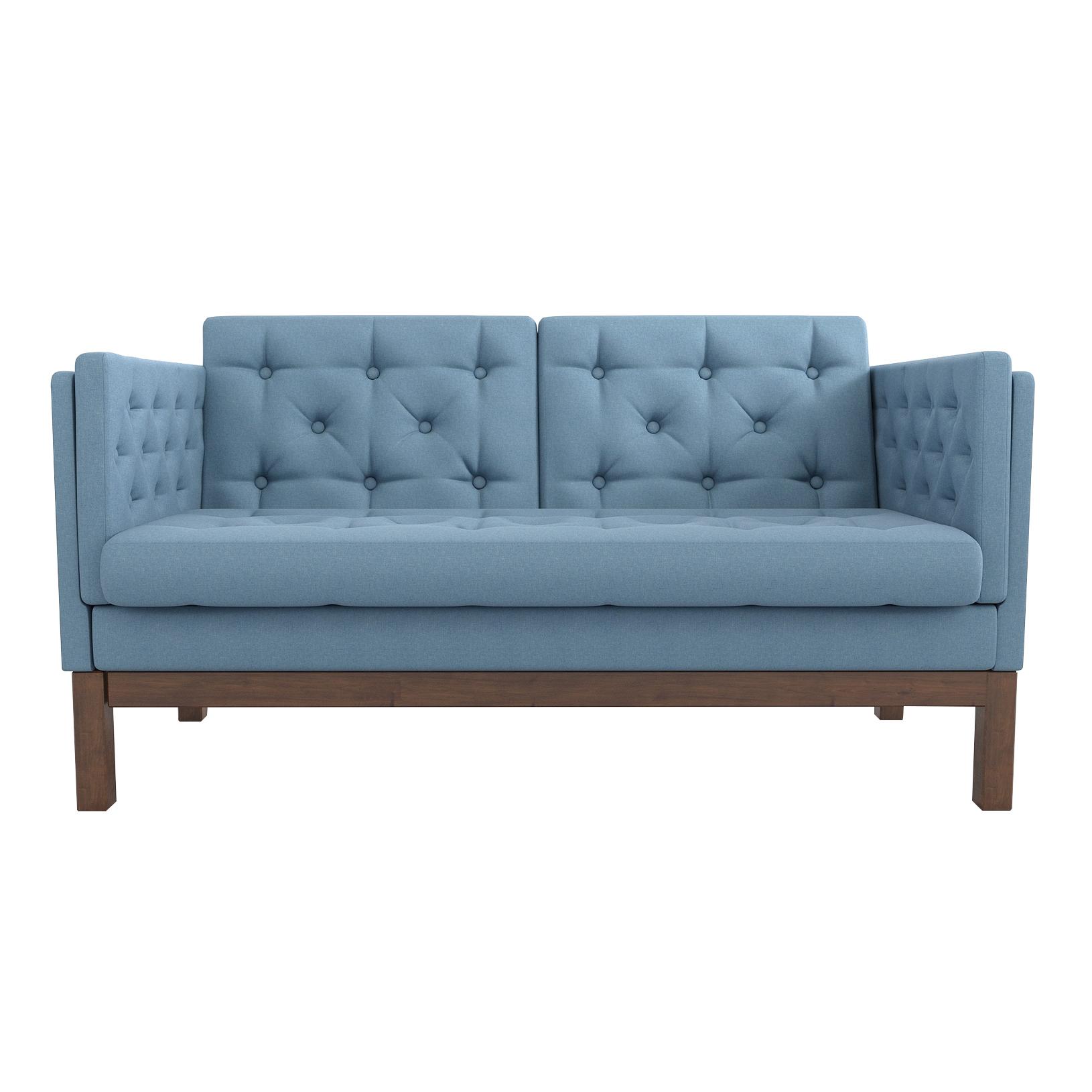 Фото - Диван AS Алана м 154x82x83 орех/голубой диван as алана м 154x82x83 сосна коричневый