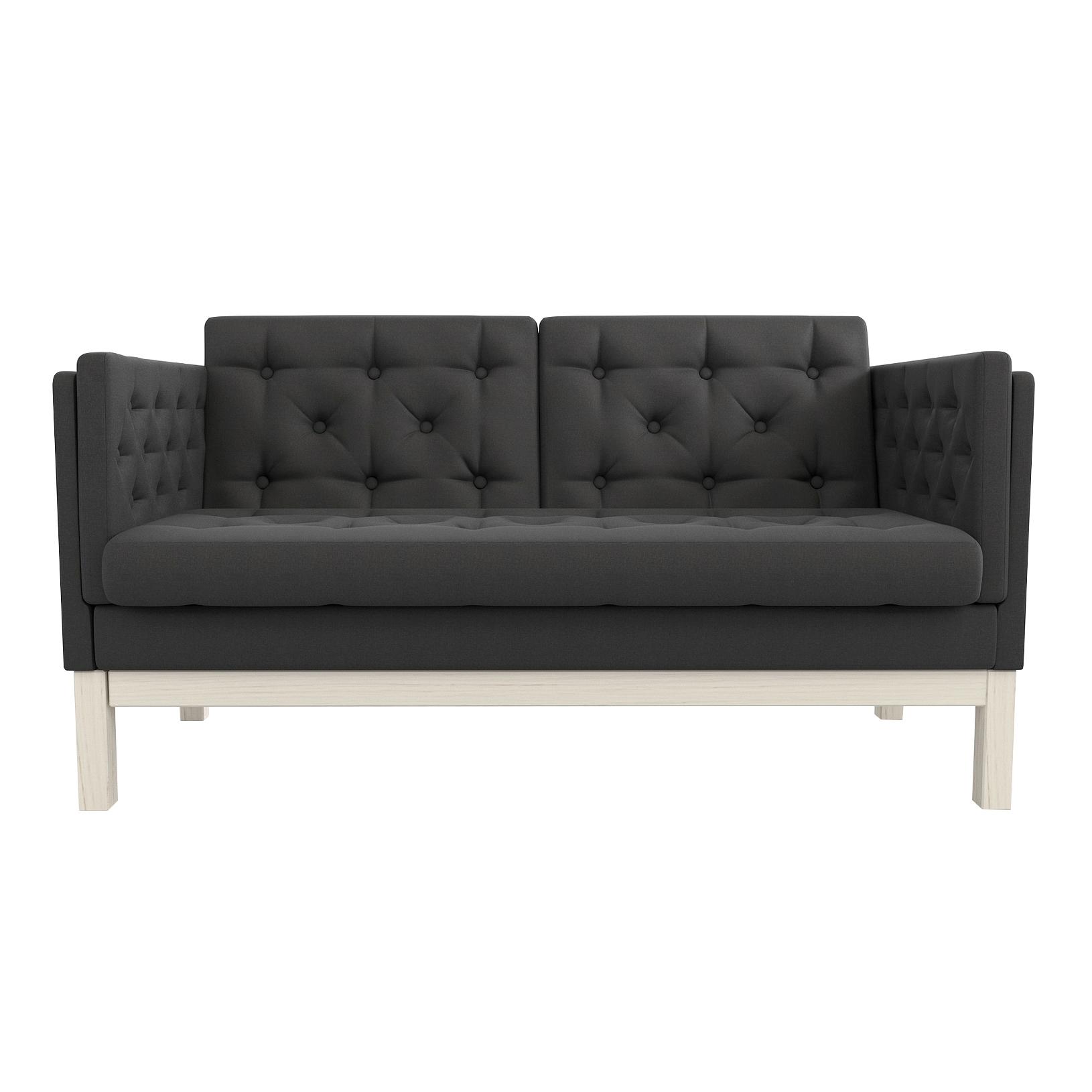 Фото - Диван AS Алана м 154x82x83 беленый дуб/черный диван as алана м 154x82x83 сосна коричневый
