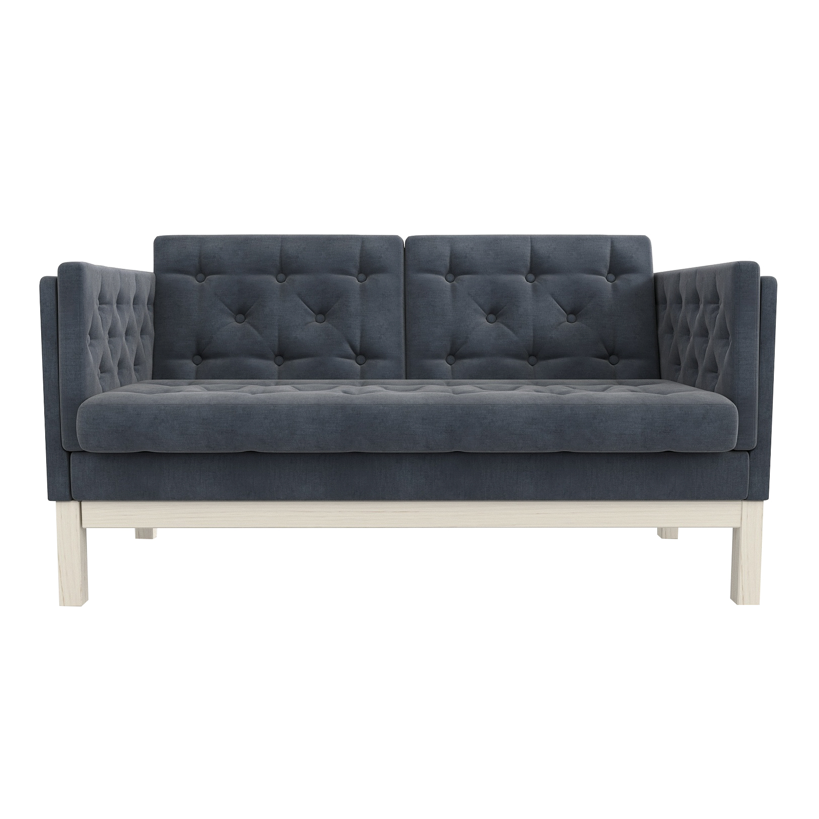 Фото - Диван AS Алана м 154x82x83 беленый дуб/серый диван as алана м 154x82x83 сосна коричневый