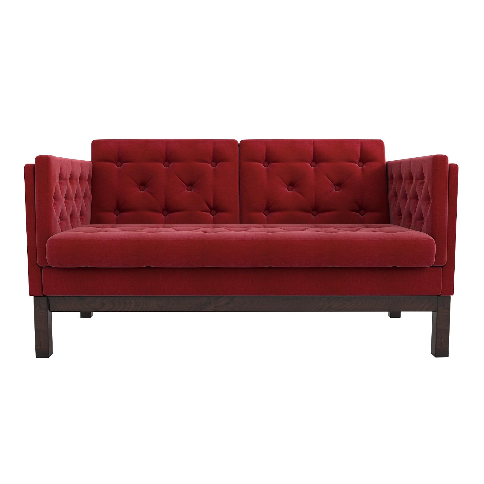 Фото - Диван AS Алана м 154x82x83 венге/красный диван as алана м 154x82x83 сосна коричневый