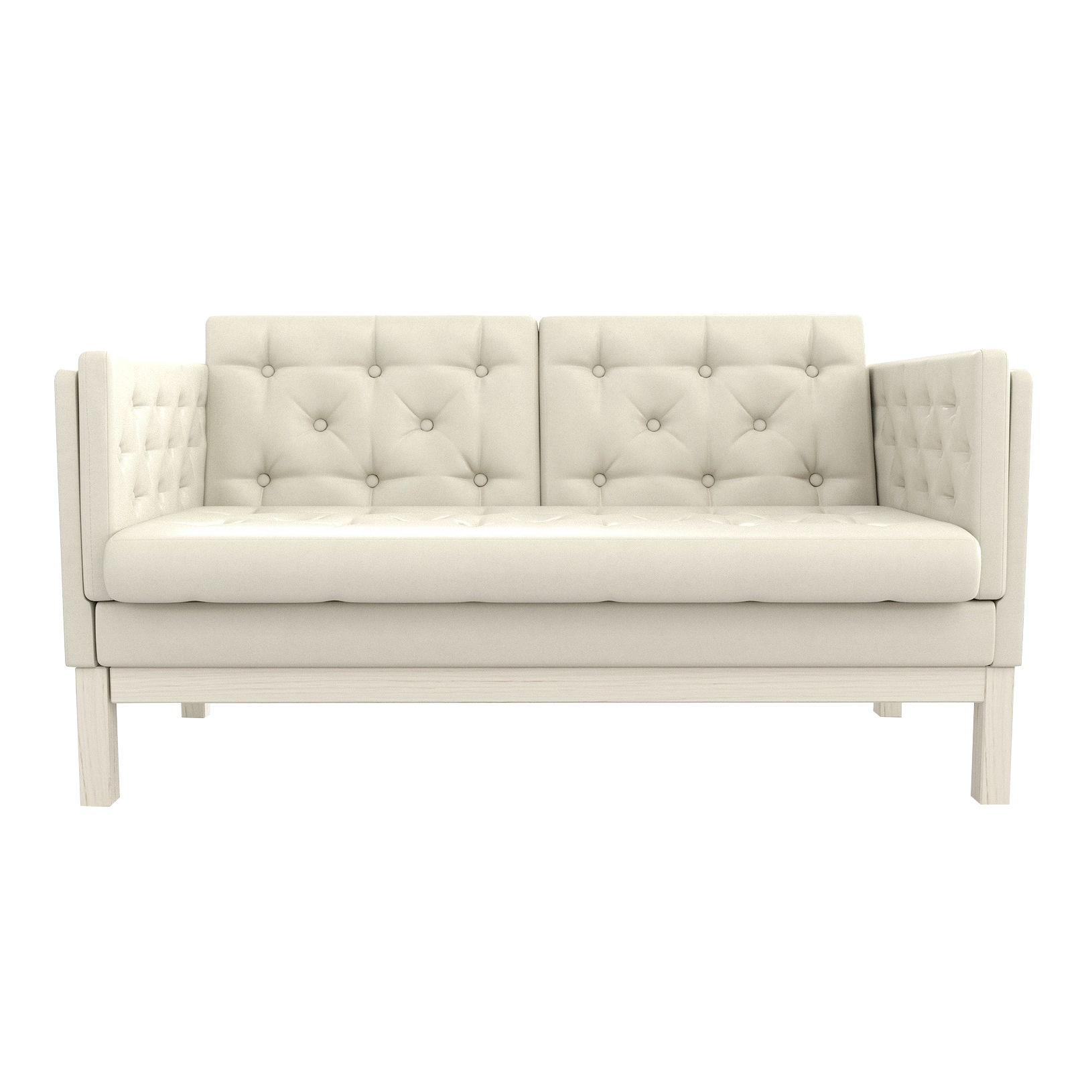 Фото - Диван AS Алана м 154x82x83 беленый дуб/белый диван as алана м 154x82x83 сосна коричневый