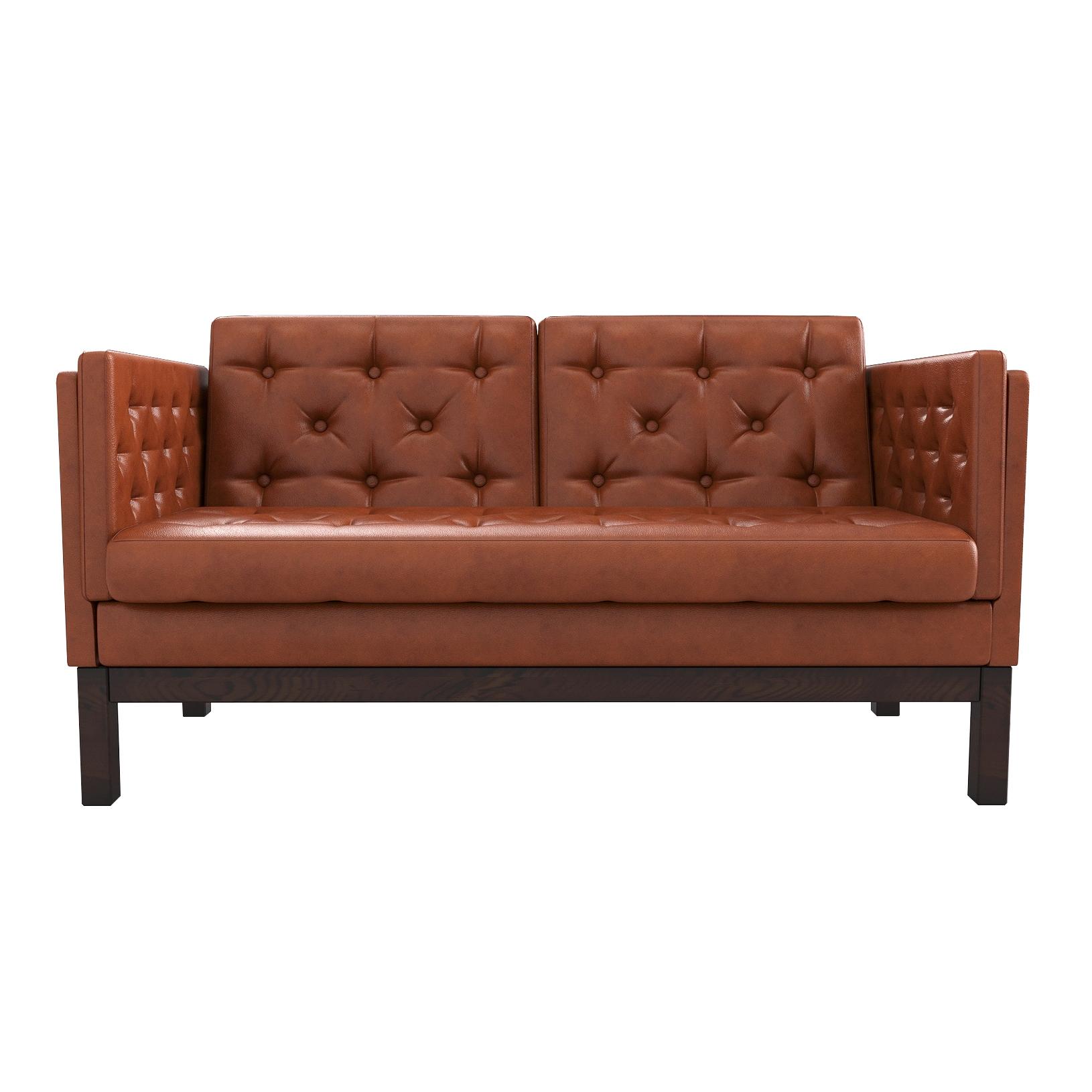 Фото - Диван AS Алана м 154x82x83 венге/оранжевый диван as алана м 154x82x83 сосна коричневый