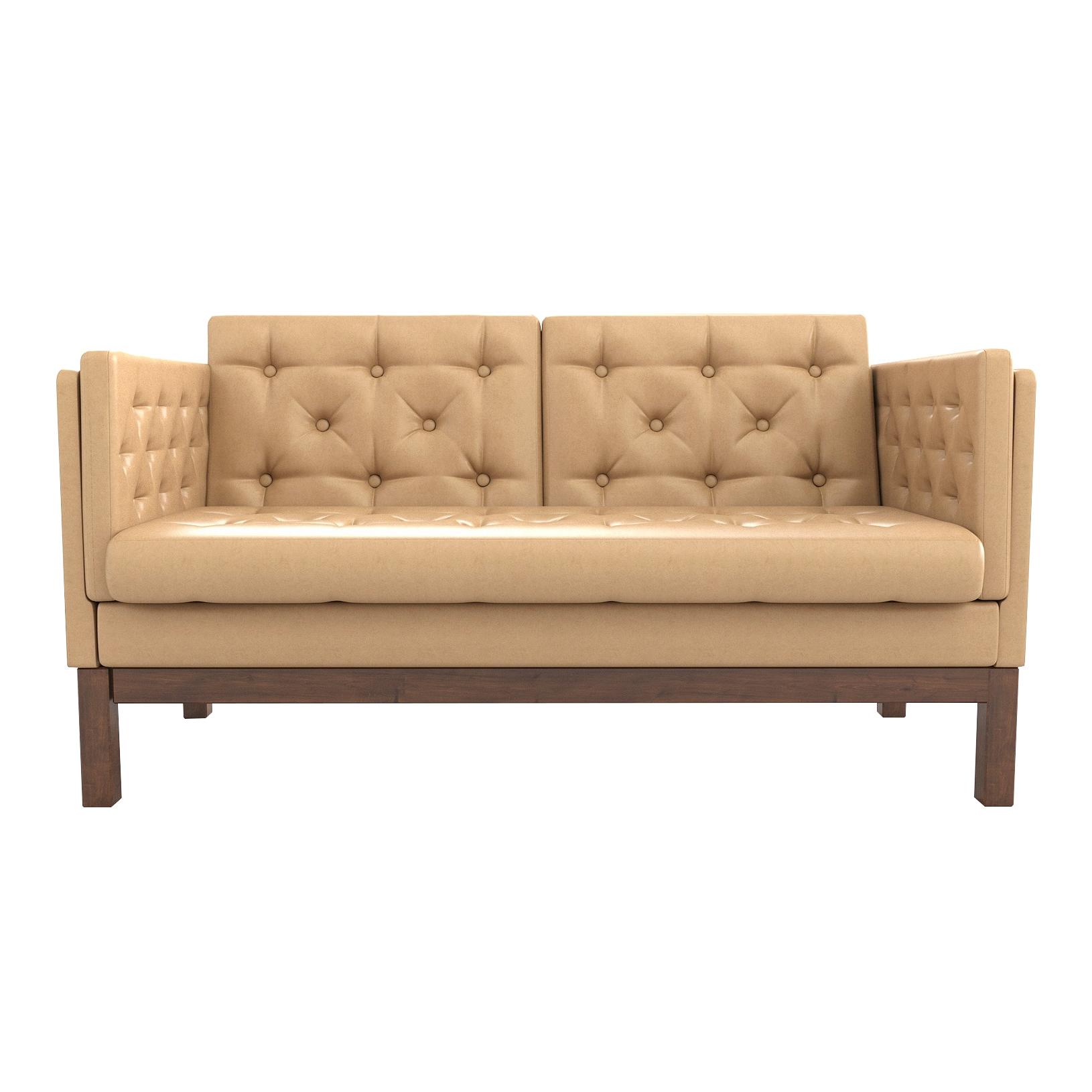 Фото - Диван AS Алана м 154x82x83 орех/кремовый диван as алана м 154x82x83 сосна коричневый