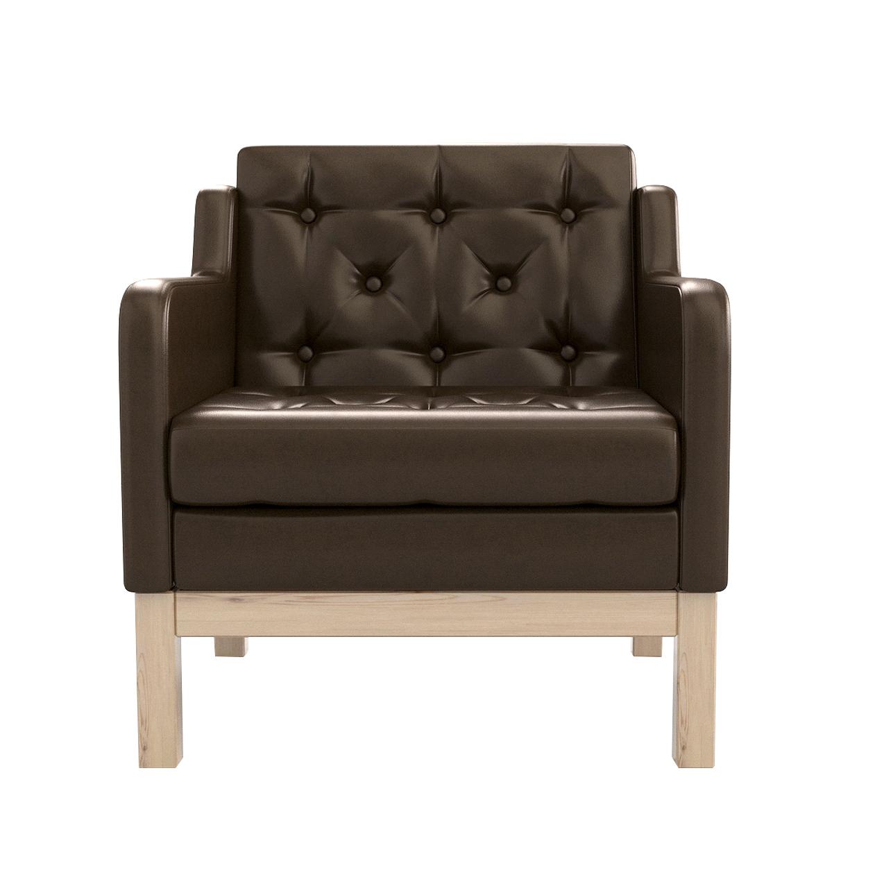 Фото - Кресло AS Алана 75.5x82x83 сосна/коричневый диван as алана м 154x82x83 сосна коричневый