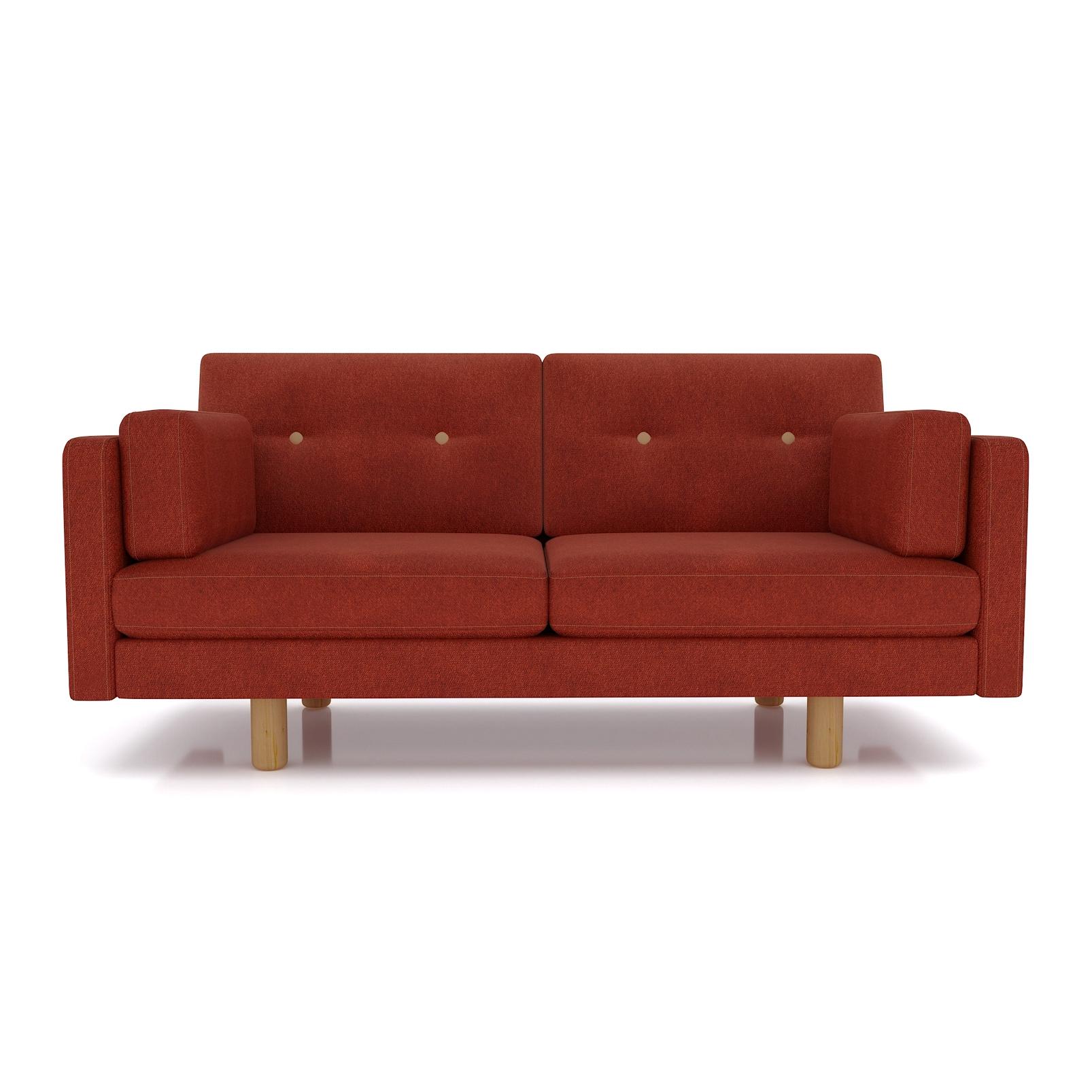Фото - Диван AS Изабелла м 167x80x83 терракотовый диван as изабелла м 167x80x83 синий