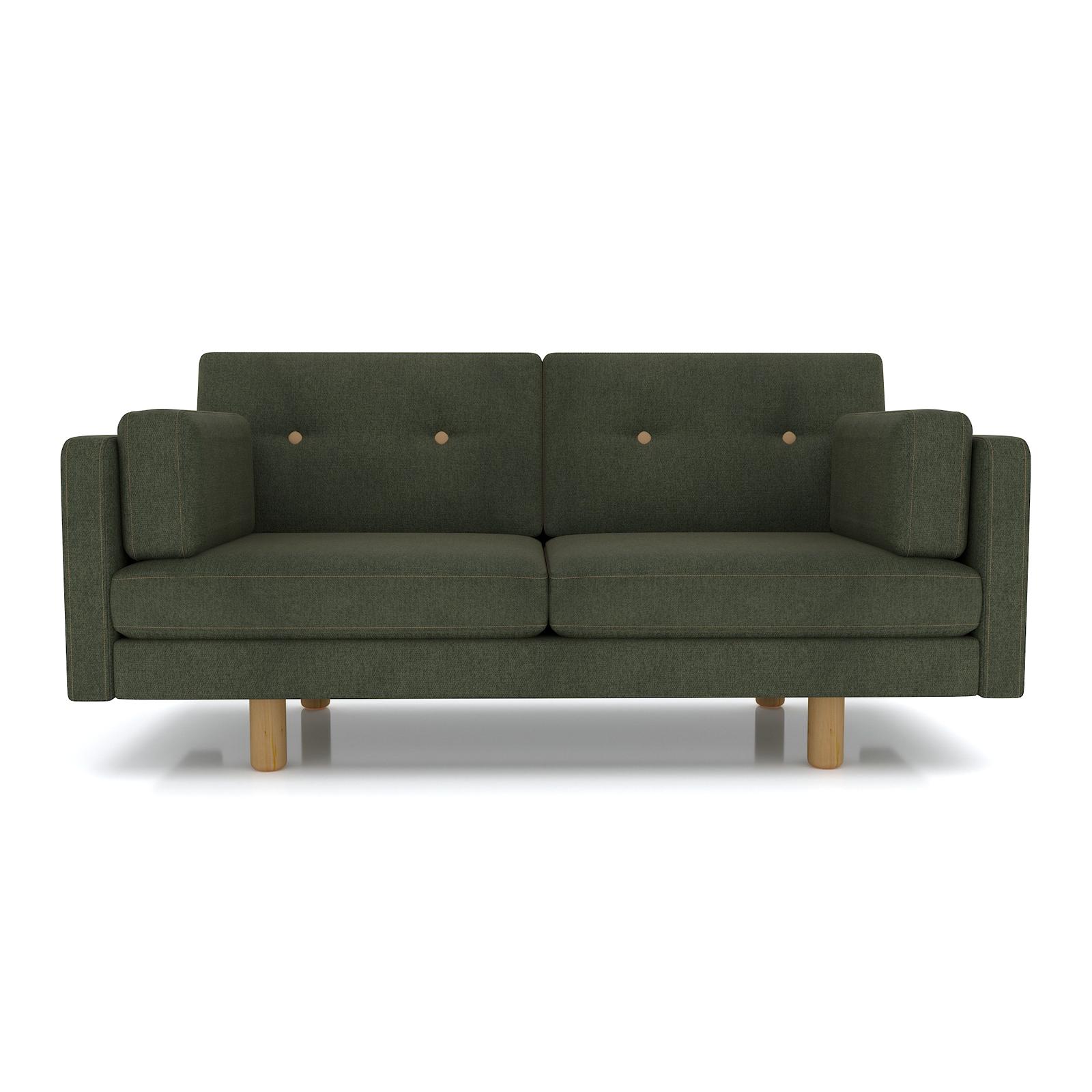 Диван AS Изабелла м 167x80x83 зеленый