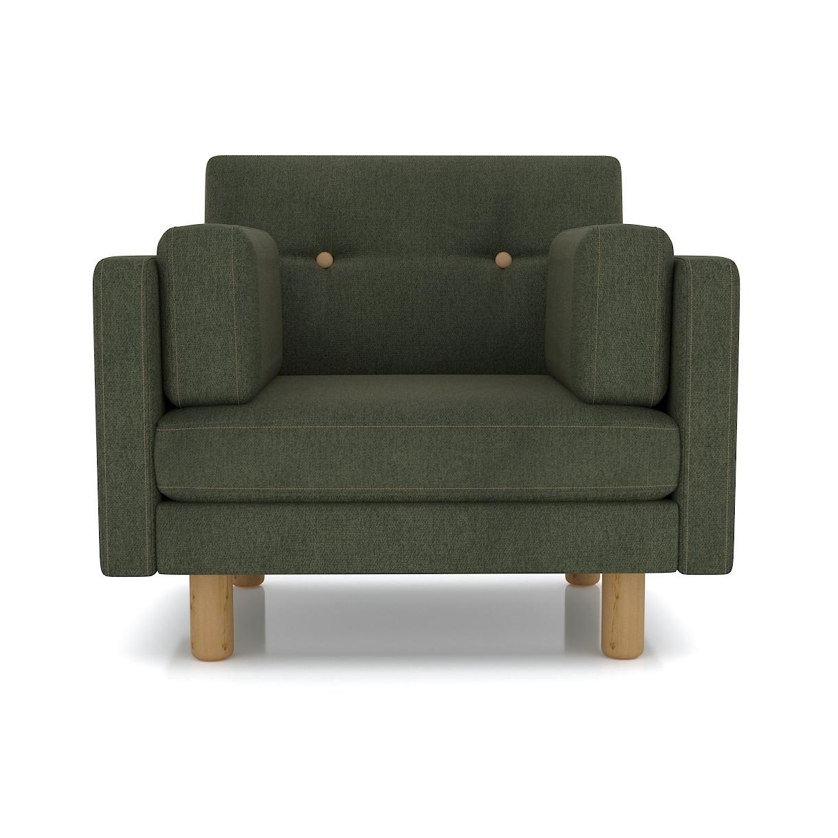 Кресло AS Изабелла м 90x80x83 зеленый недорого
