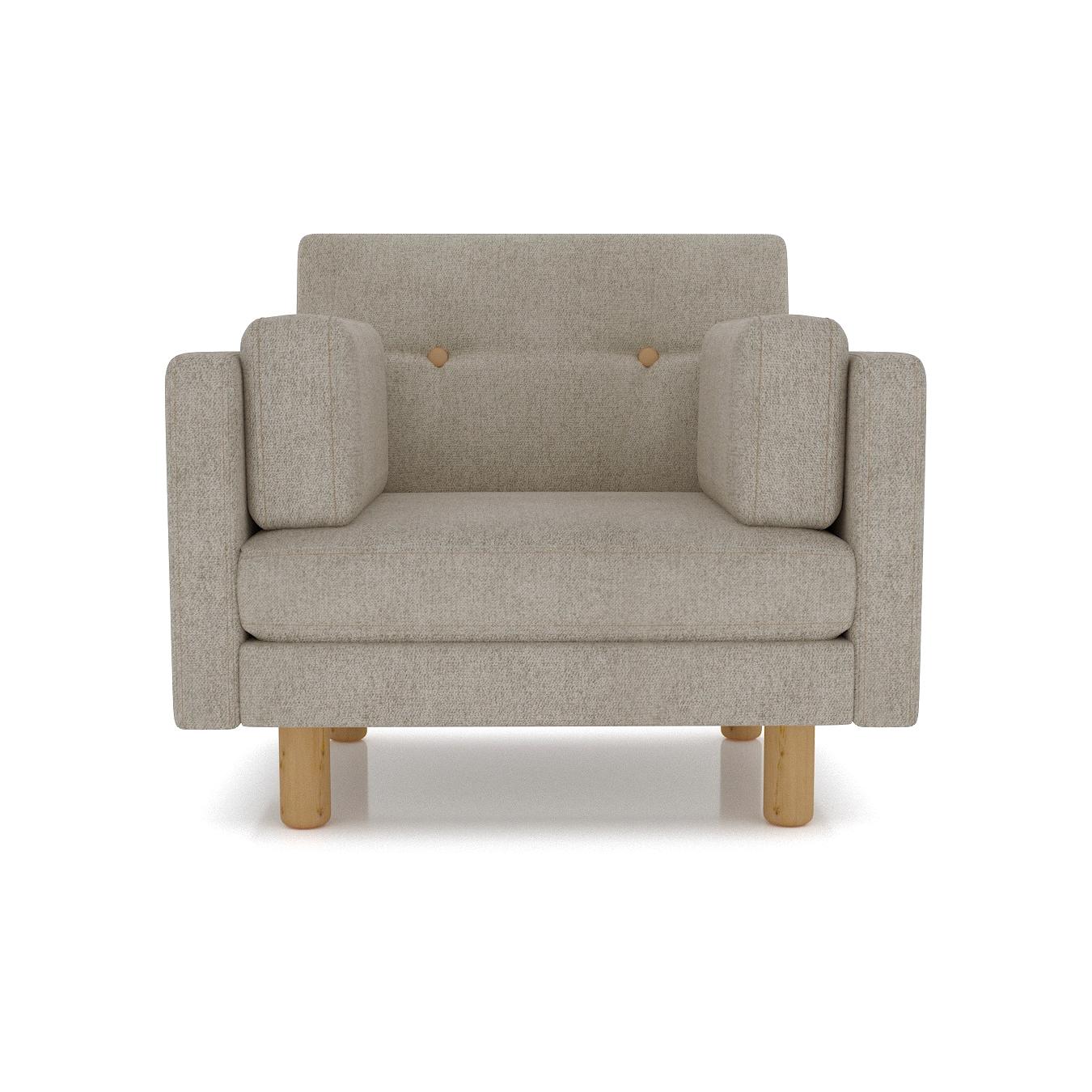 Кресло AS Изабелла м 90x80x83 серый диваны