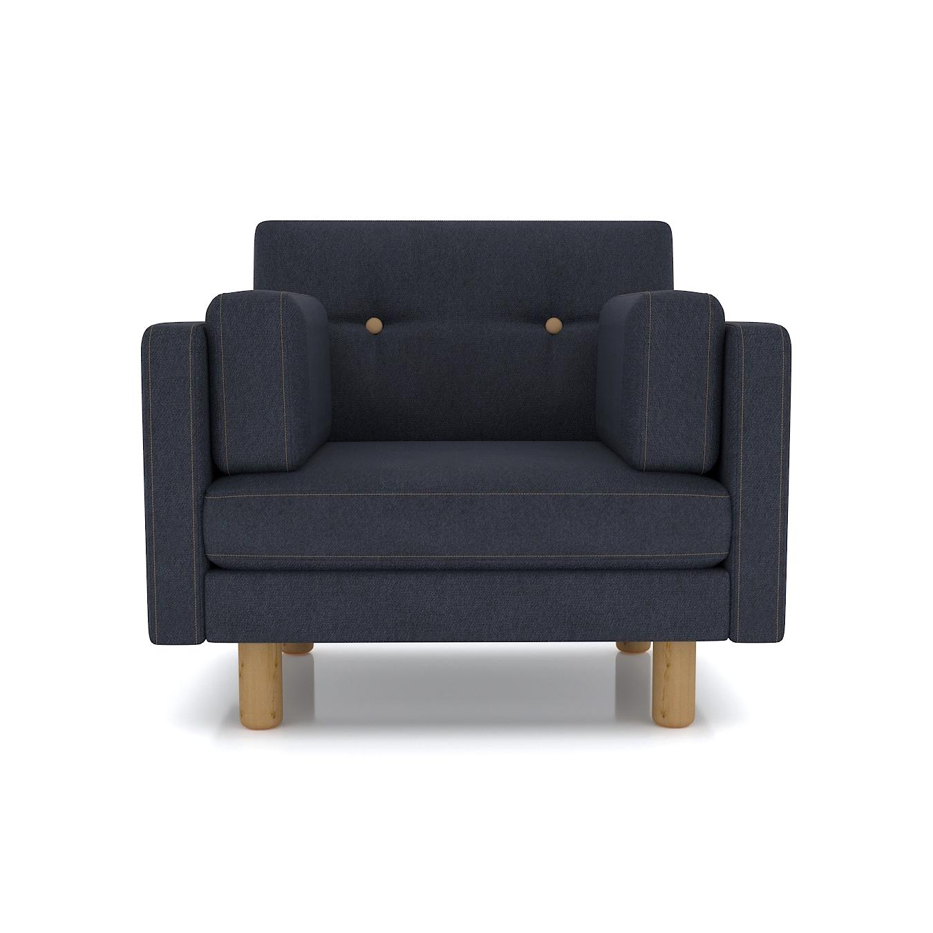 Кресло AS Изабелла м 90x80x83 антрацитовый диваны