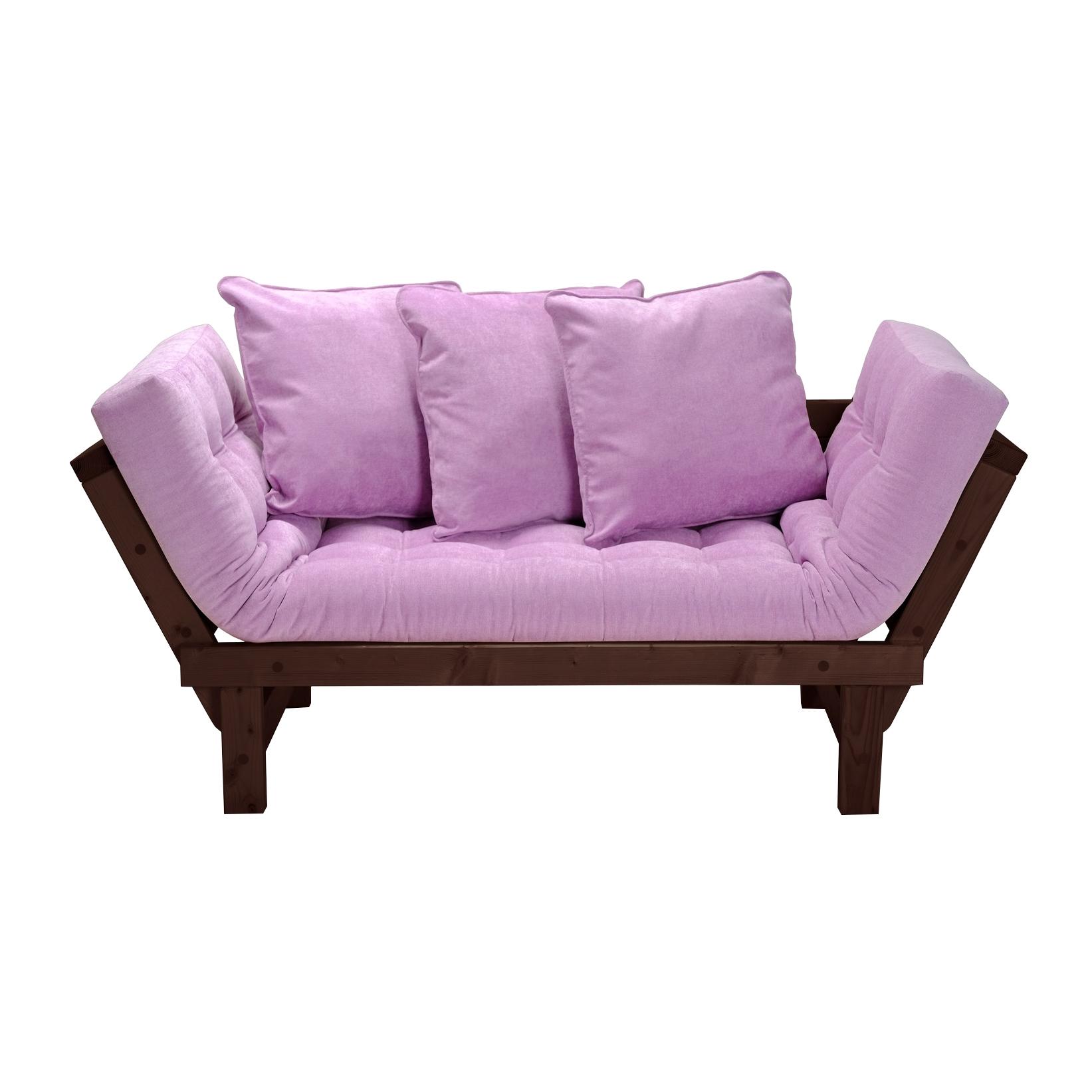 Кушетка AS Санди 158x77x61 венге/розовый