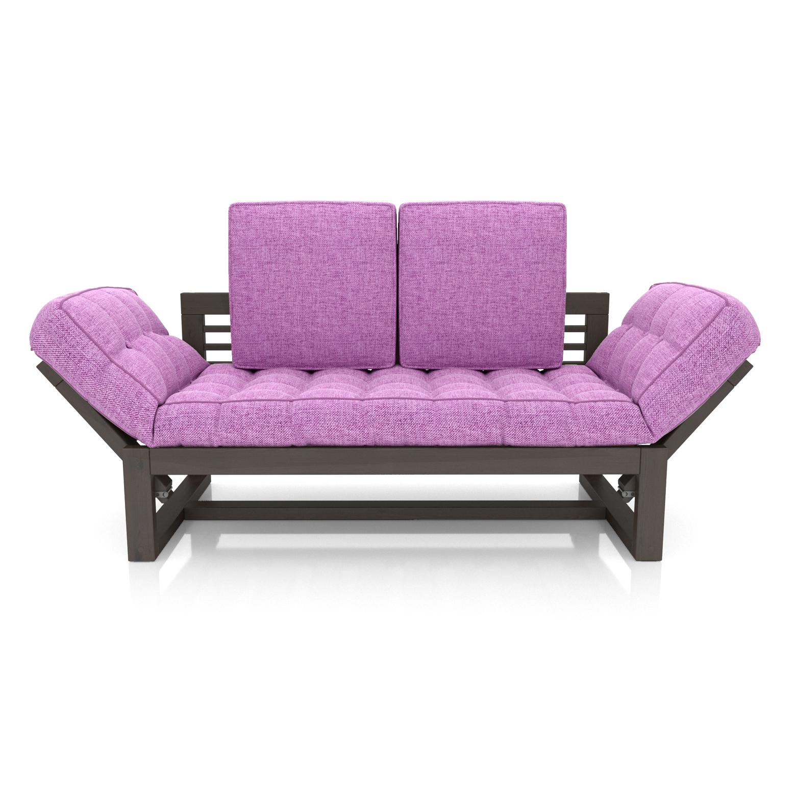 Кушетка AS Бекка 170x76x65 венге/фиолетовый