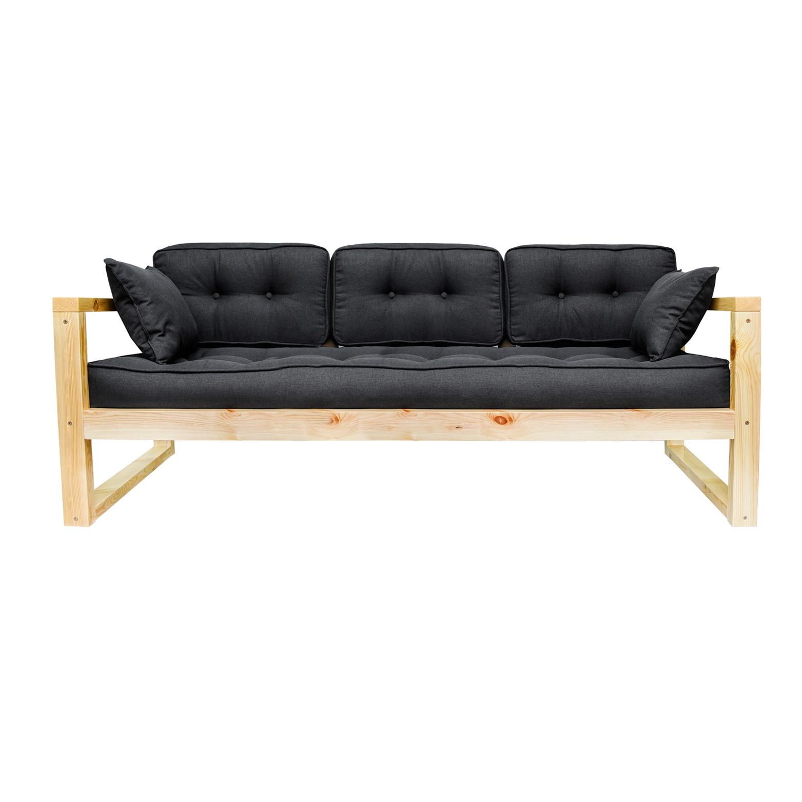 Фото - Диван AS Алекс б 178x73x64 сосна/черный диван as алекс б 178x73x64 белый графитовый