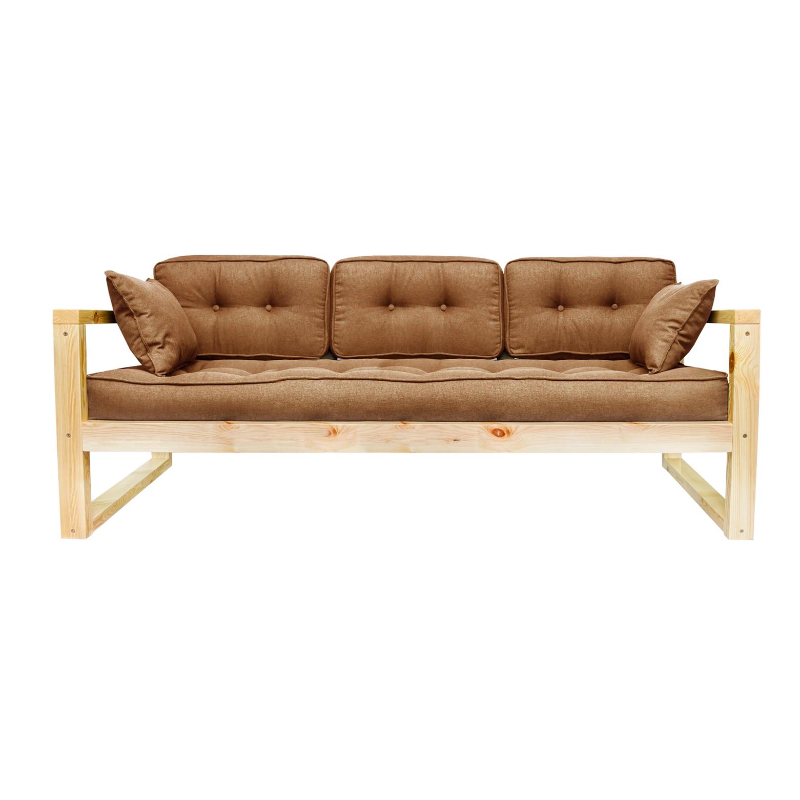 Фото - Диван AS Алекс б 178x73x64 сосна/коричневый диван as алекс б 178x73x64 белый графитовый