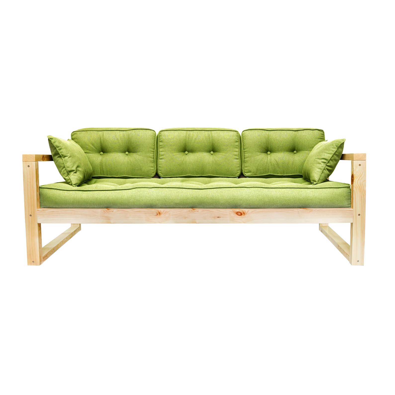 Фото - Диван AS Алекс б 178x73x64 сосна/зеленый диван as алекс б 178x73x64 белый графитовый