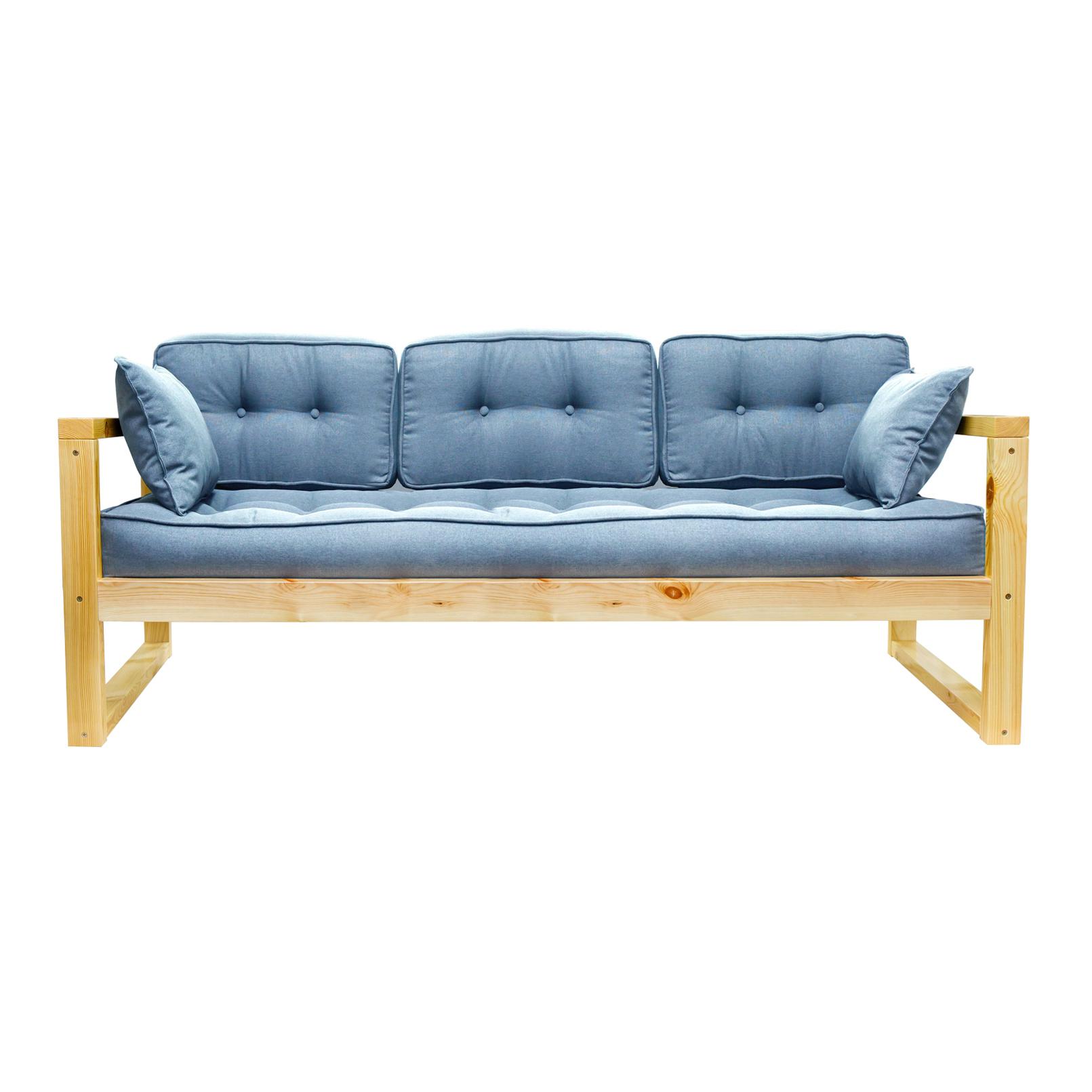 Фото - Диван AS Алекс б 178x73x64 сосна/голубой диван as алекс б 178x73x64 белый графитовый