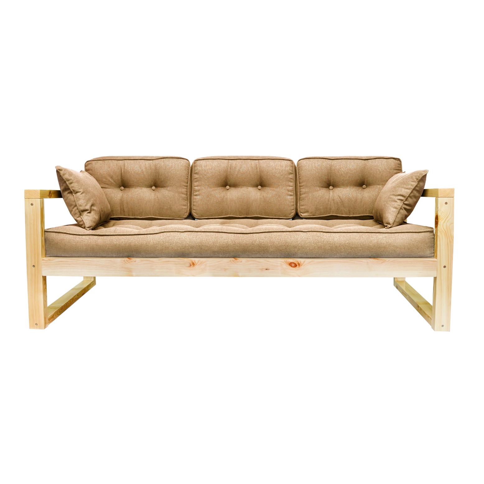 Фото - Диван AS Алекс б 178x73x64 сосна/бежевый диван as алекс б 178x73x64 белый графитовый