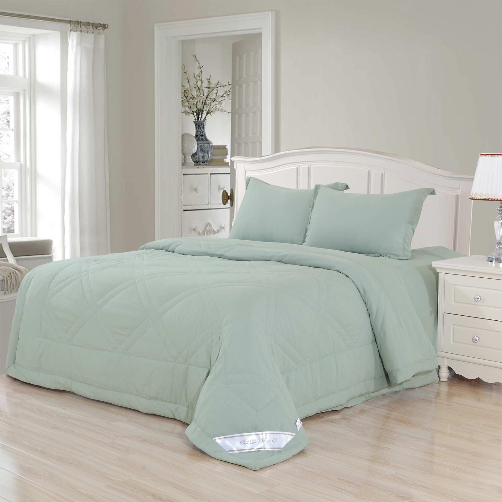 Комплект постельного белья с одеялом Sofi De Marko Сандра Евро (ЕВРО-КОМ-517ОД) комплект с покрывалом sofi de marko sofi de marko mp002xu0dzin