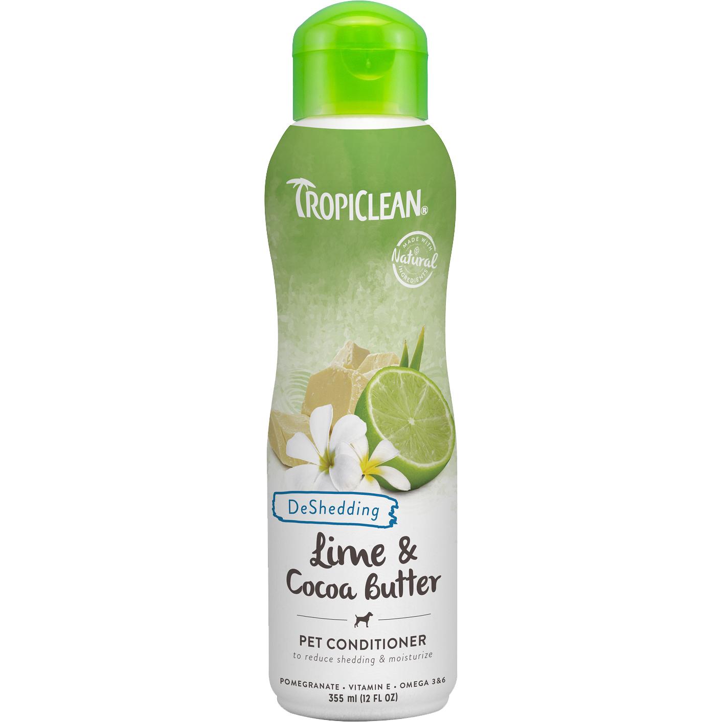 Кондиционер для животных TropiClean Лайм и масло какао 355 мл недорого
