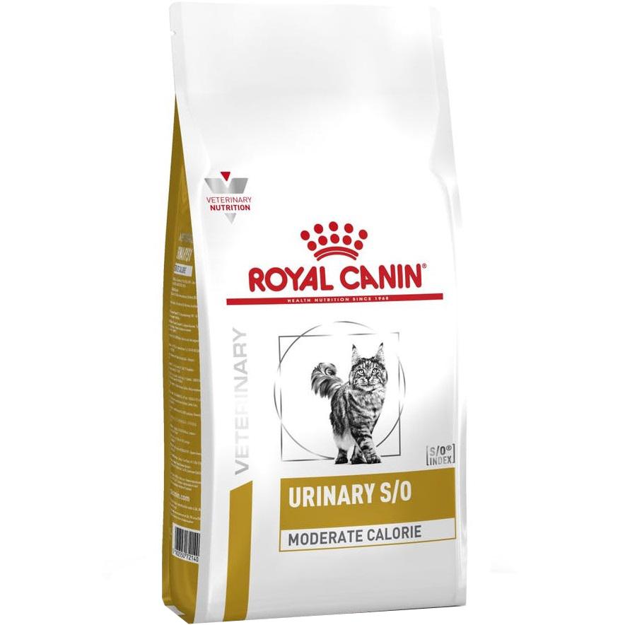 Фото - Корм для кошек RC Urinary S/O Moderate Calorie при мочекаменной болезни и лишнем весе 400 г сухой корм для кошек royal canin urinary s o для лечения мкб 400 г