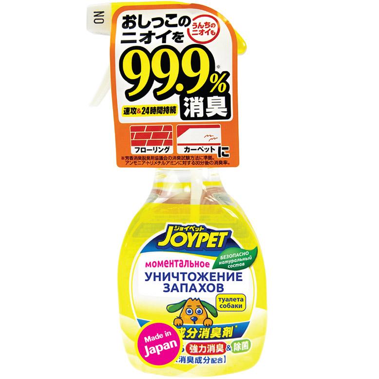 Спрей для собак Japan Premium Pet уничтожитель сильных запахов туалета 270 мл