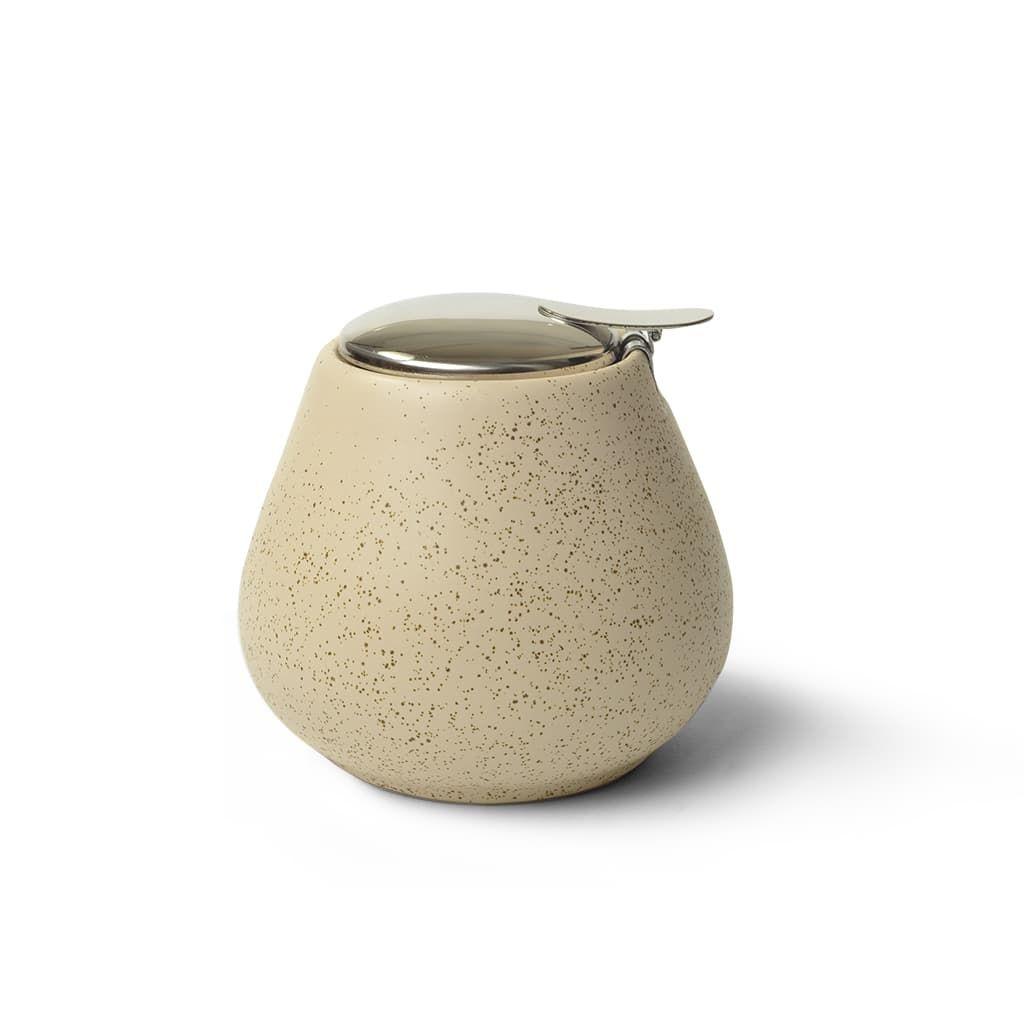 Сахарница Fissman White Sand керамика 600 мл фото