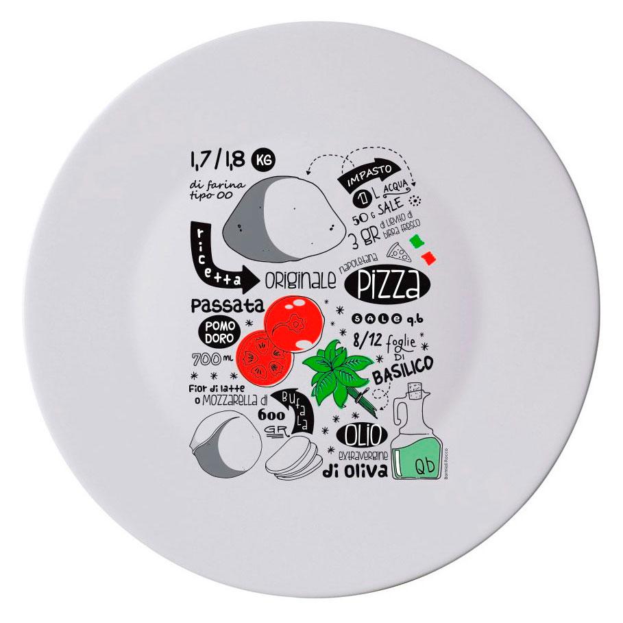 Блюдо для пиццы 33см Bormioli Rocco Ronda 33 см фото