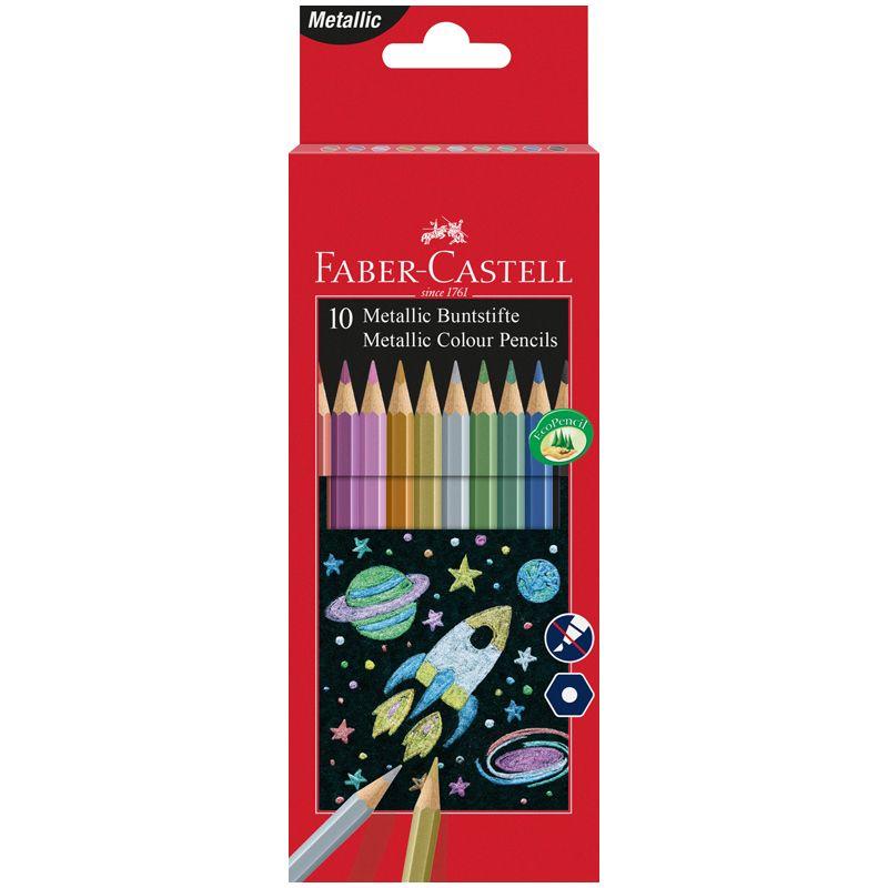 Карандаши цветные Faber-castell 10 цветов
