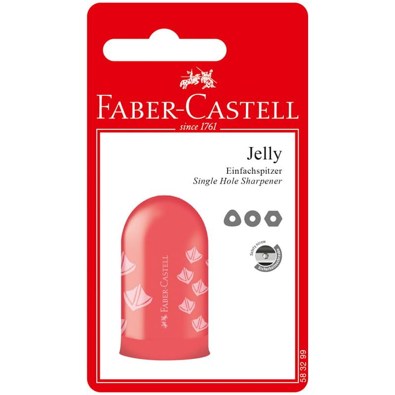 Точилка с контейнером Faber-Castell Jelly 1 отверстие