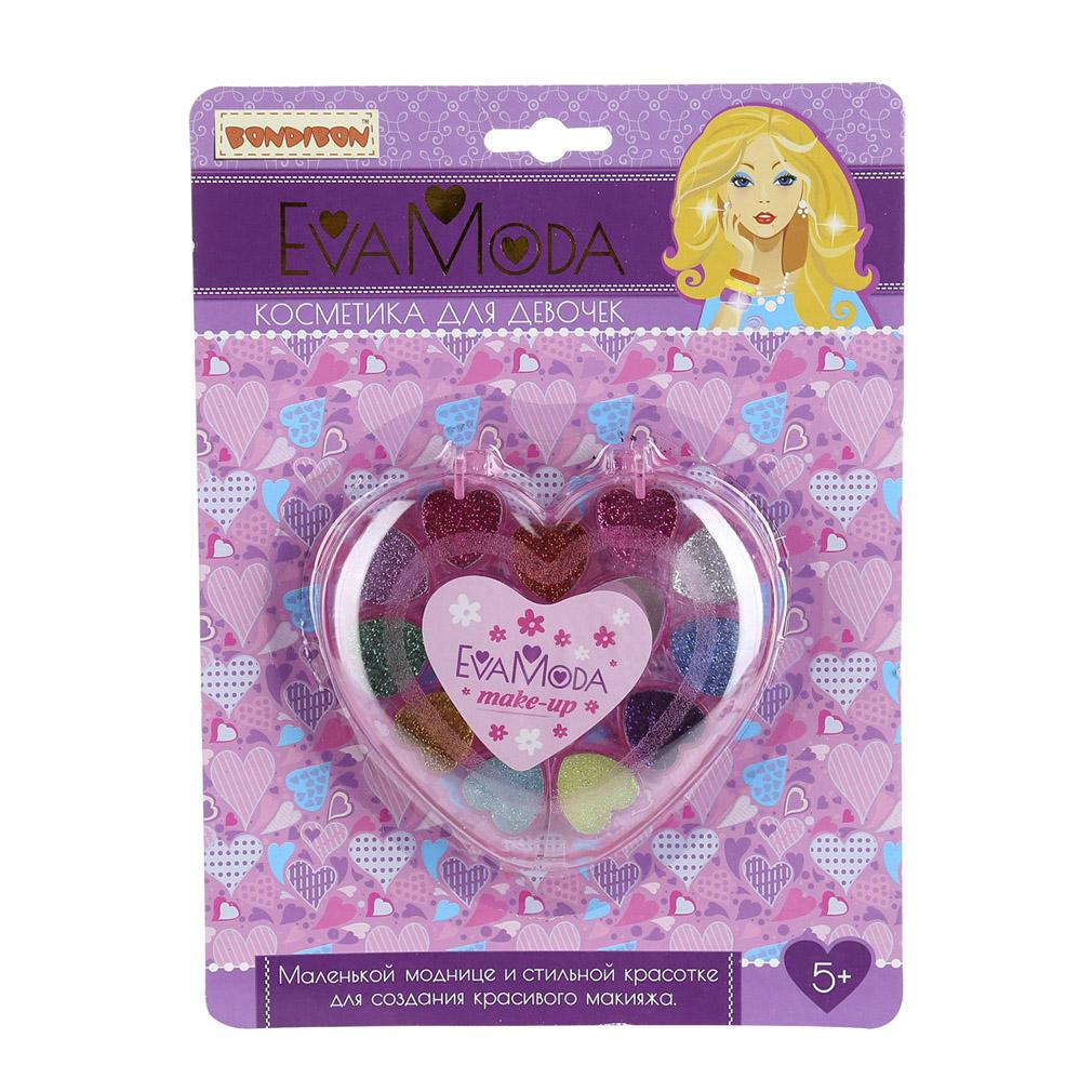 Набор детской декоративной косметики Bondibon Eva Moda Сердце ВВ1776