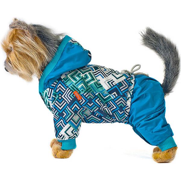 Комбинезон для собак HAPPY PUPPY Сити синий 2 24 см.