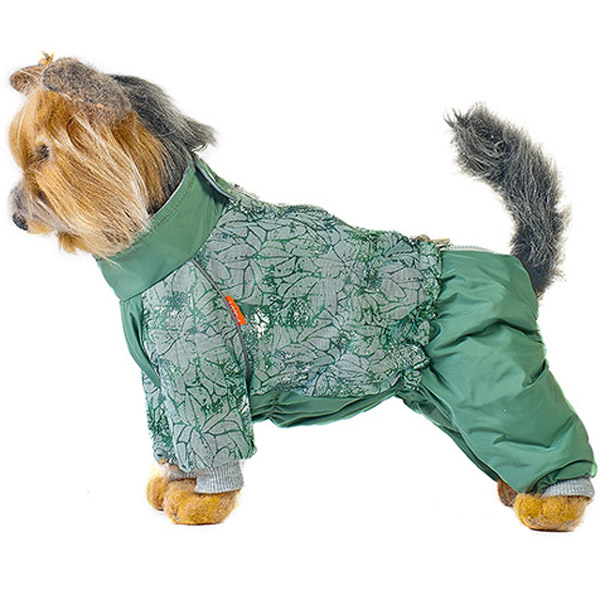 Комбинезон для собак HAPPY PUPPY Грин спринг 3 28 см.