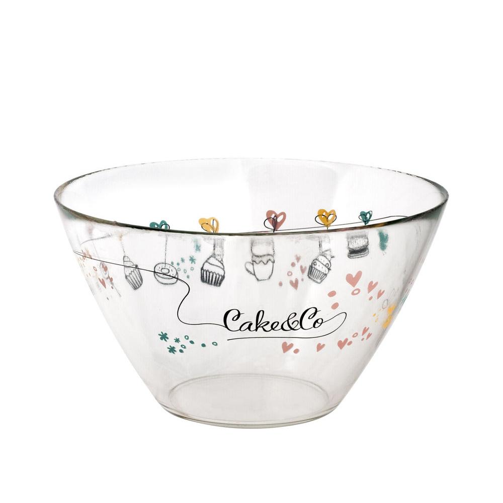 Салатник Bormioli Rocco Cake&Co 26 см салатник bormioli rocco parma
