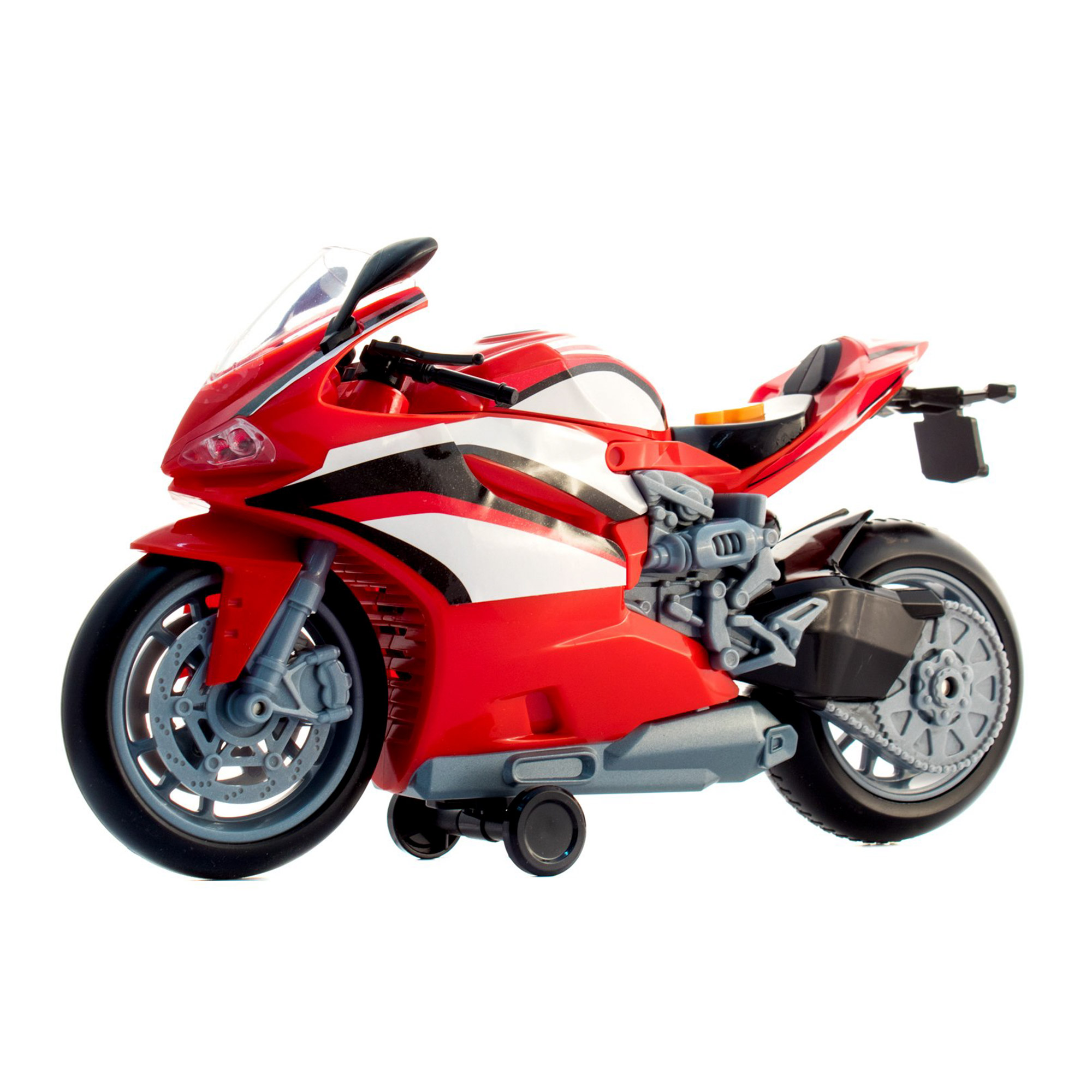 Фото - Мотоцикл HTI (Teamsterz) Street Starz Красный трек hti teamsterz турбо прыжок