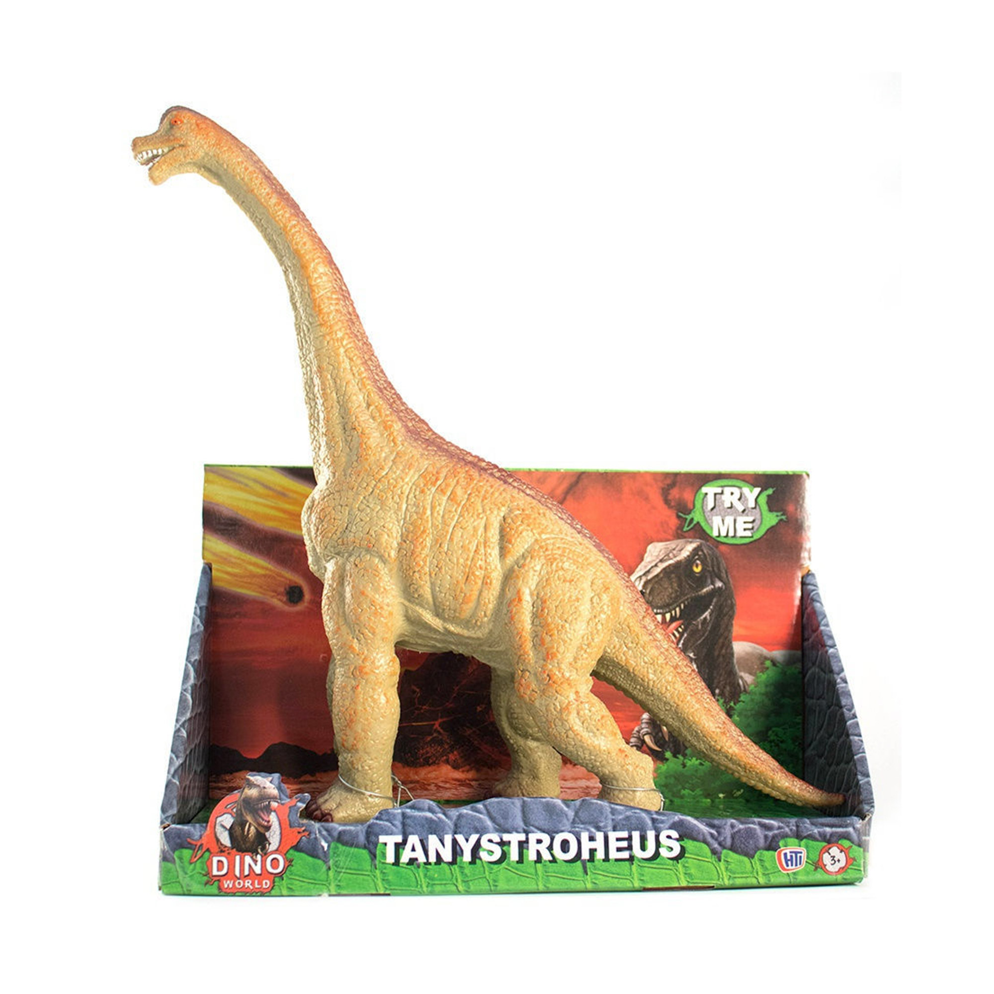 Фигурка динозавра HTI DINO WORLD Танистрофей 42 см фигурка hti dino world аллозавр 1374171 unib