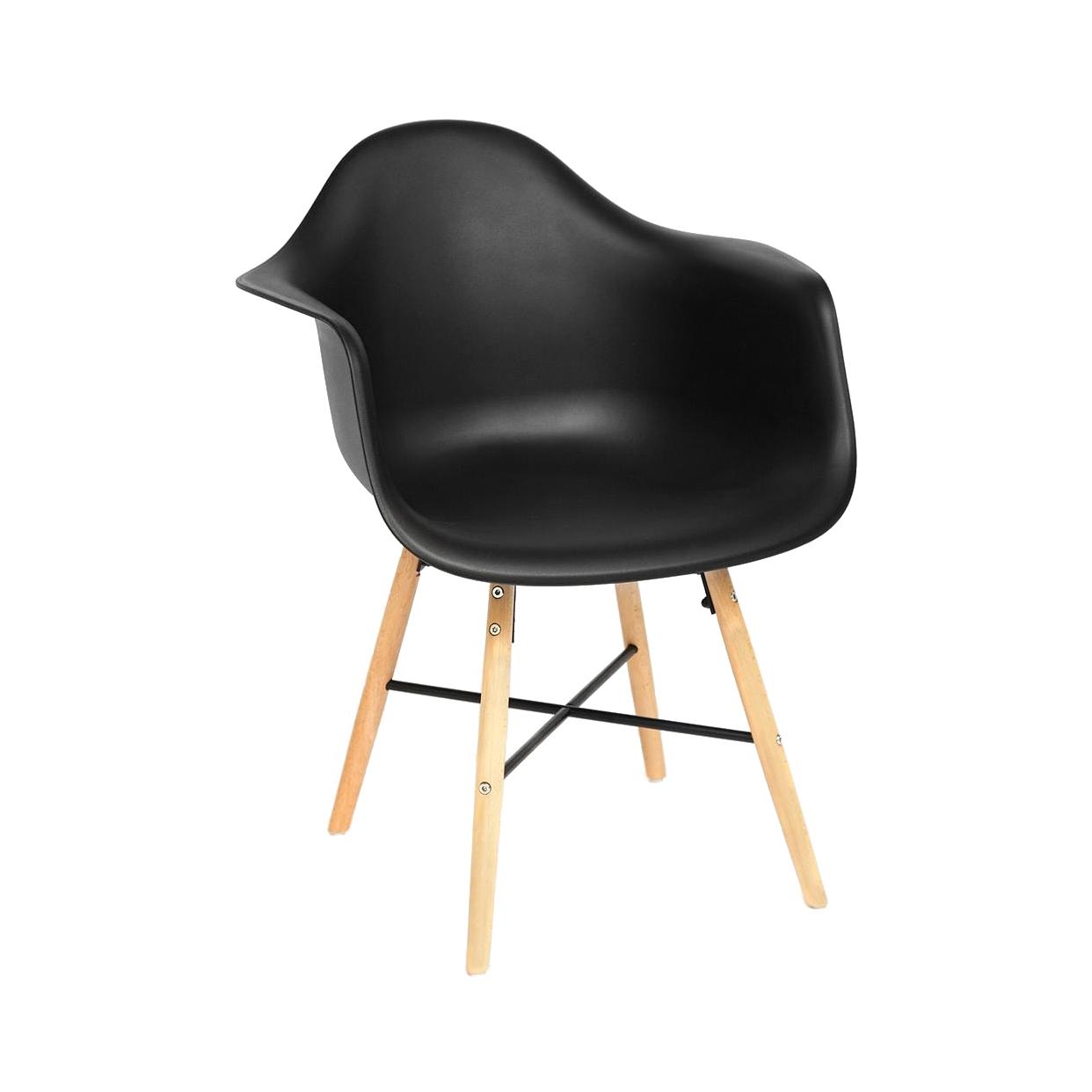 Кресло SDM чёрное 61х60х82 см