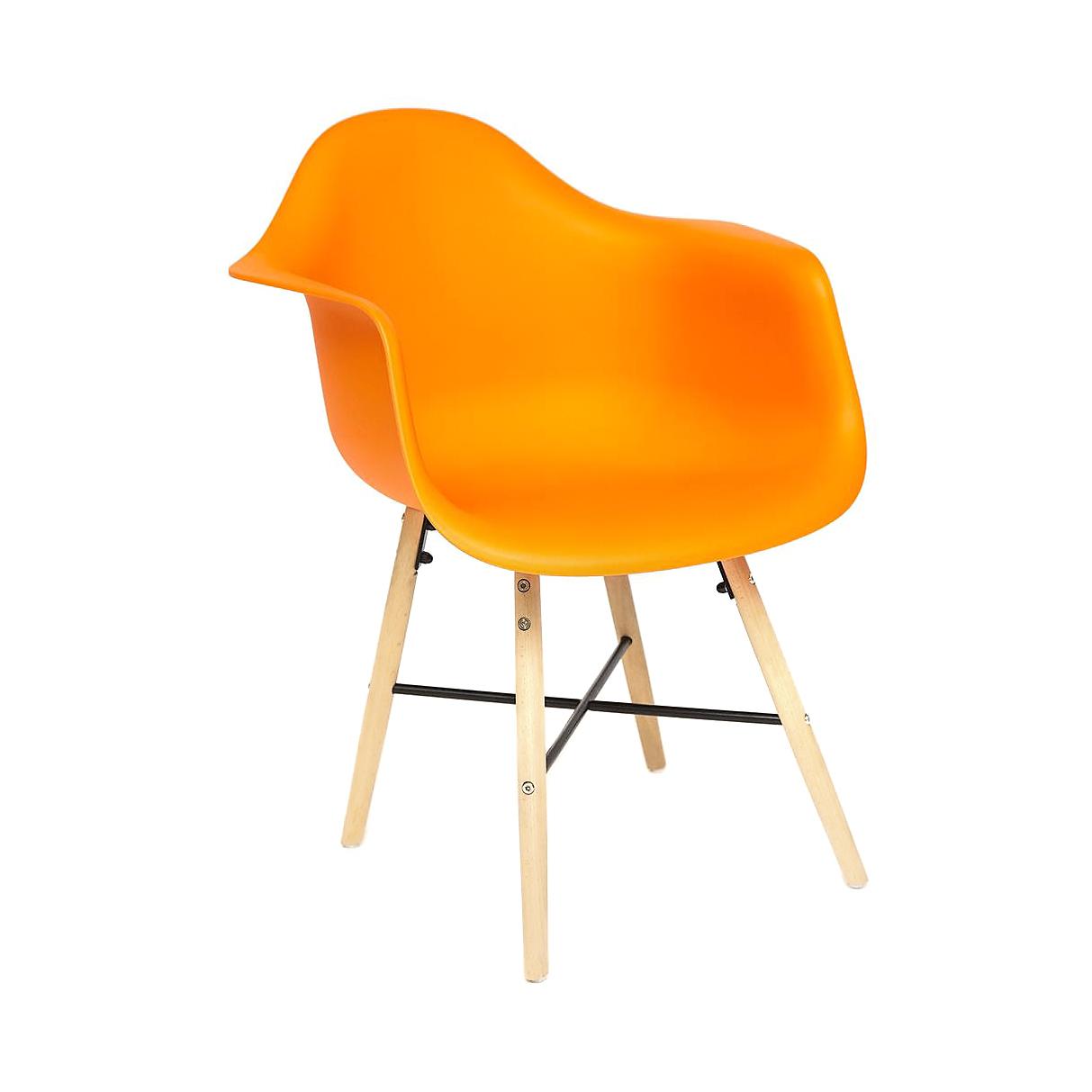 Кресло SDM оранжевое 61х60х82 см