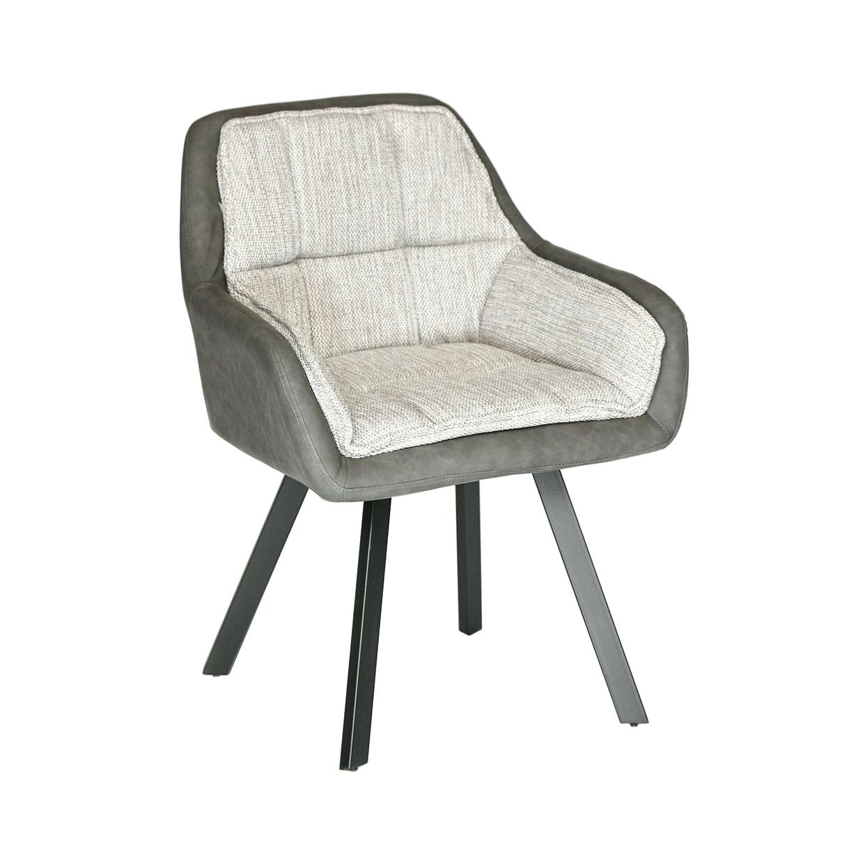 Кресло TC серый/бежевый 63х66х84 см кресло tc натуральный бежевый 65х56х77 см
