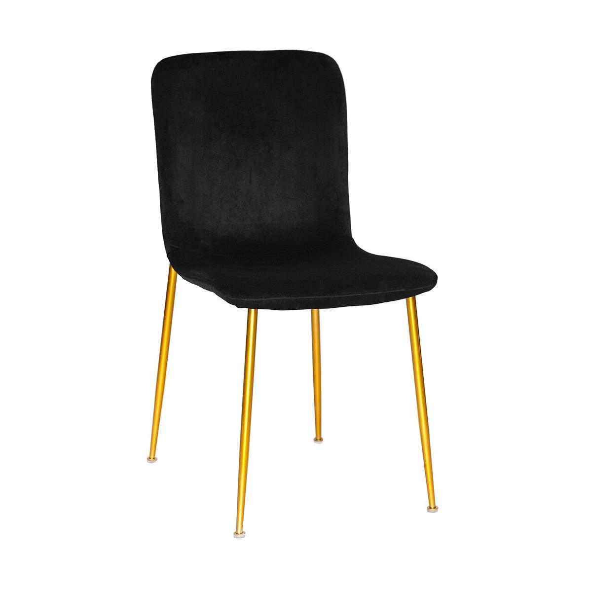 Стул TC черный/золотой 56x43x83 см барный стул tc черный 5xx43x102 5 см