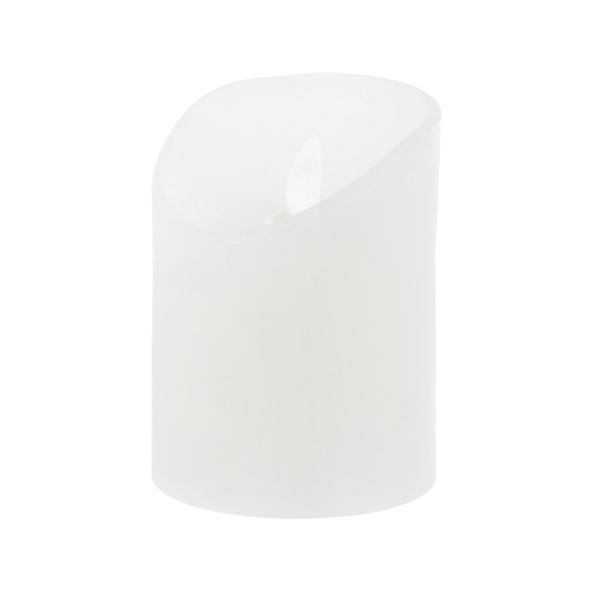Свеча Boltze led bino с таймером white 10 см