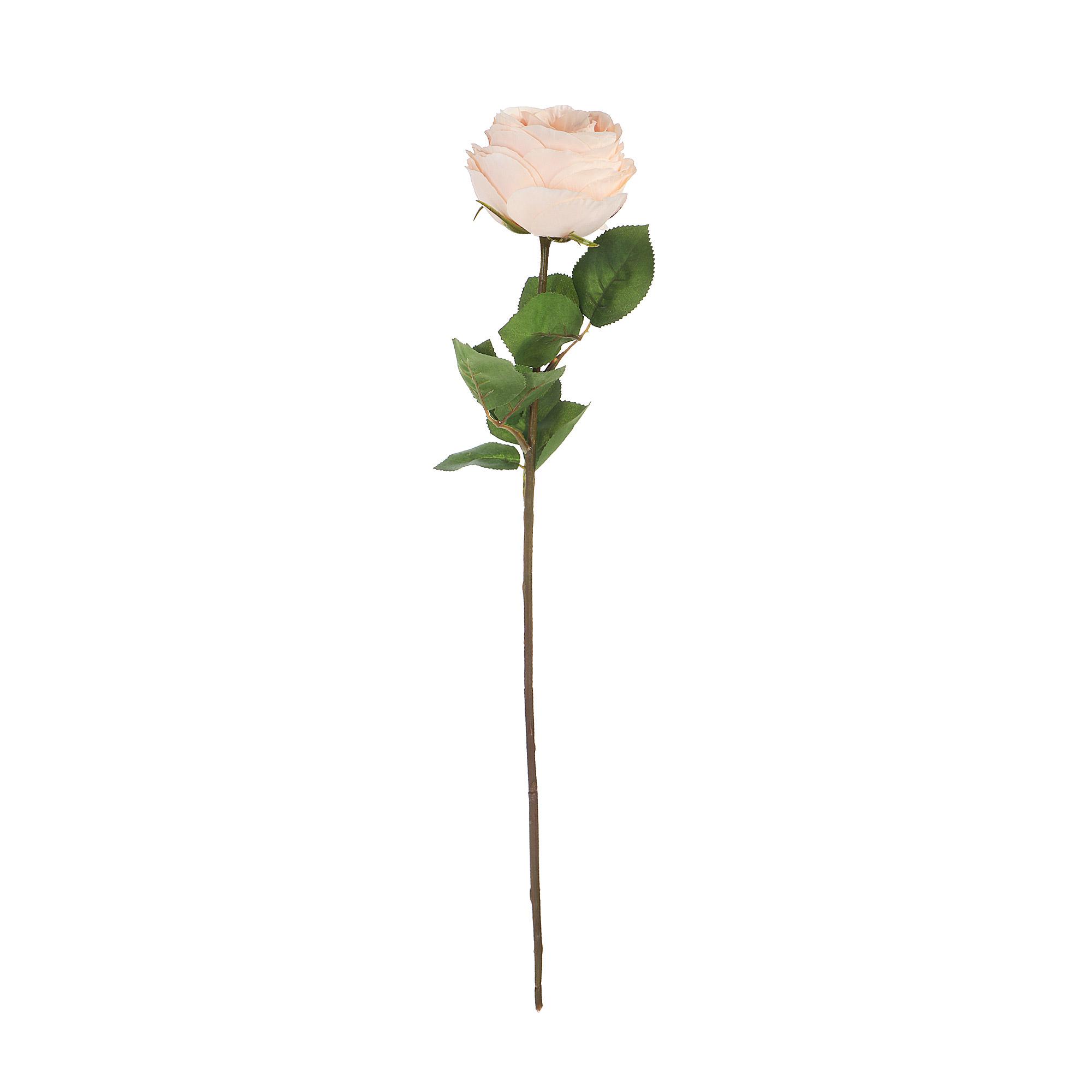 Цветок искусственный Dpi роза 56cm светло-оранжевый