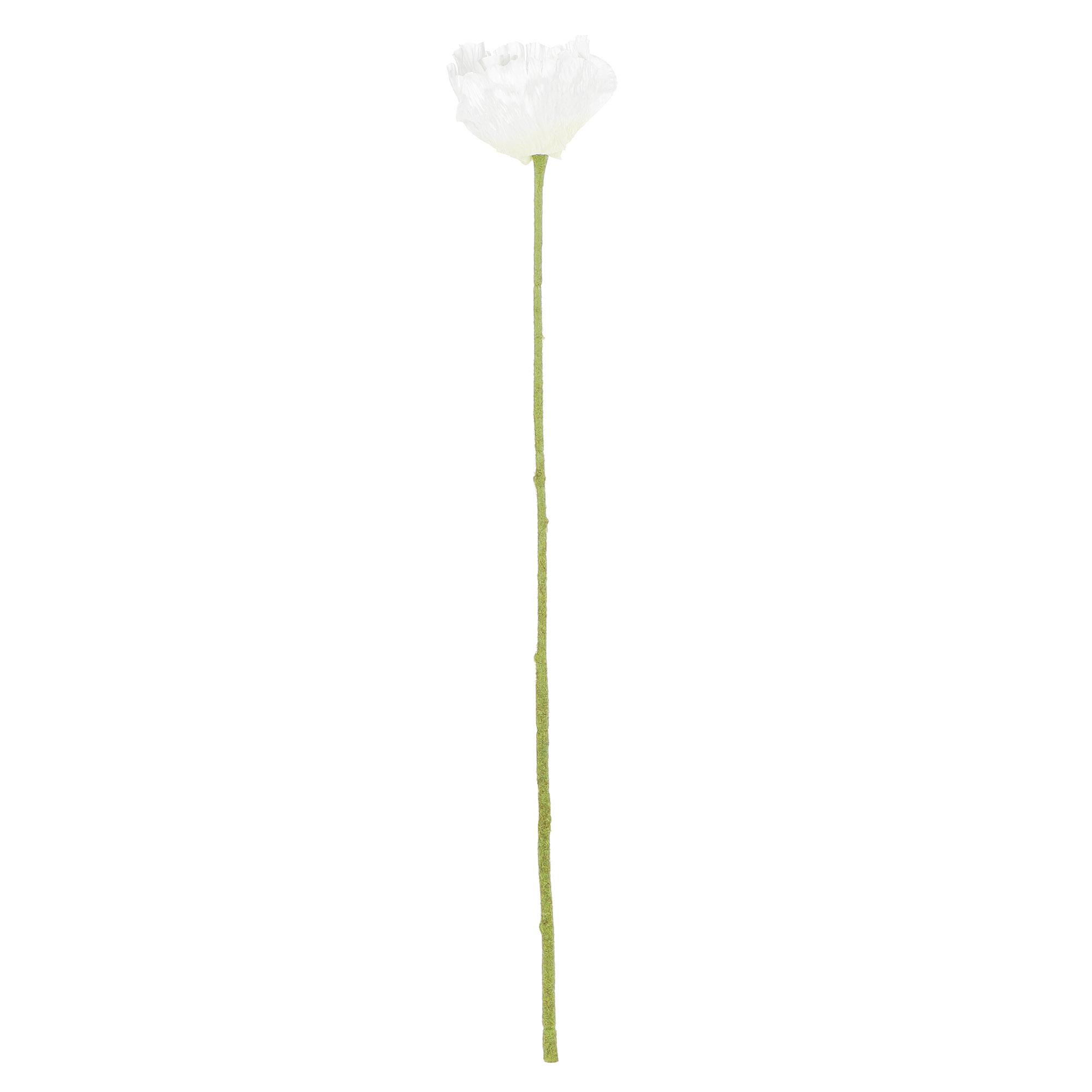 Цветок искусственный Dpi Мак 60 см фото