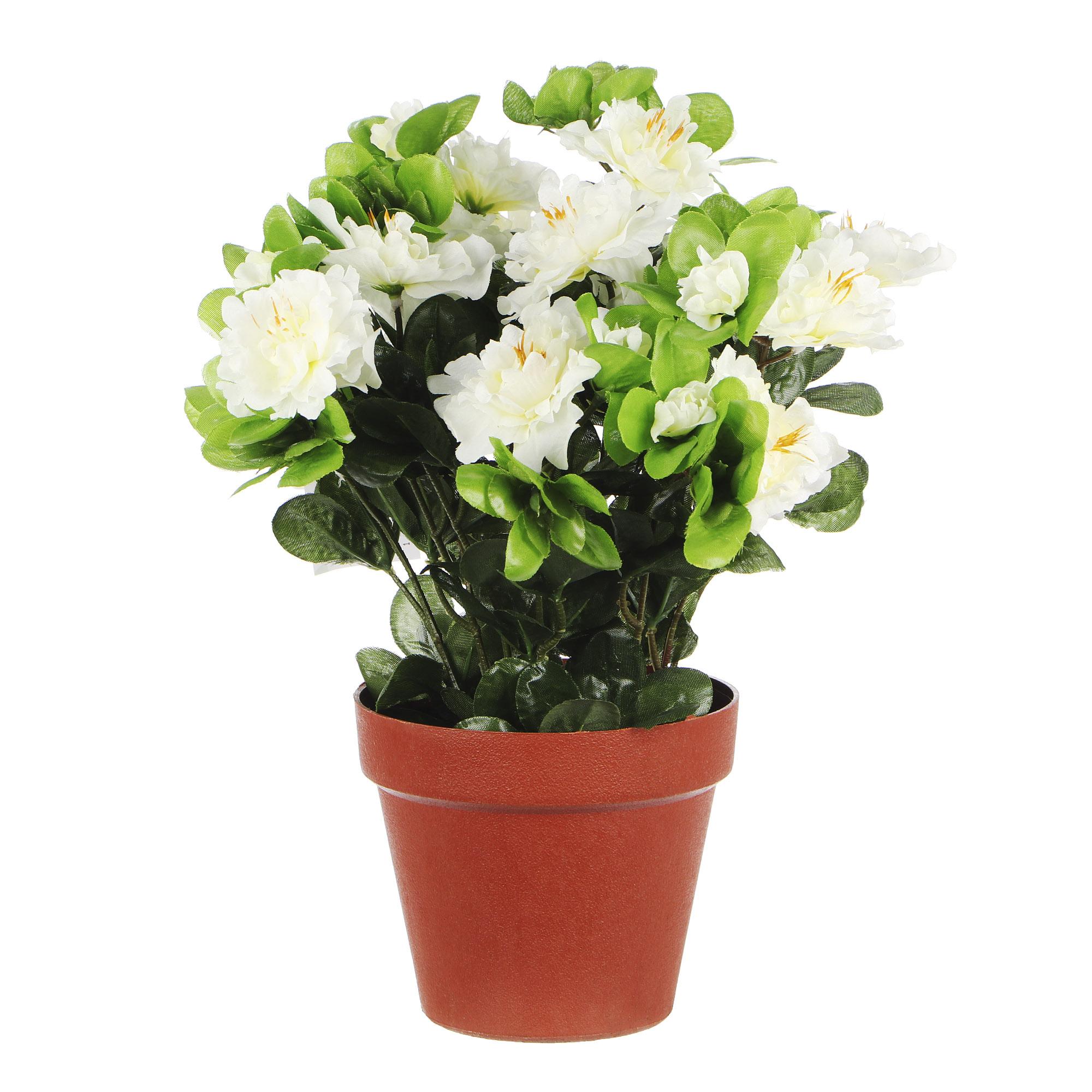 Растение искусственное Dpi азалия в горшке фото