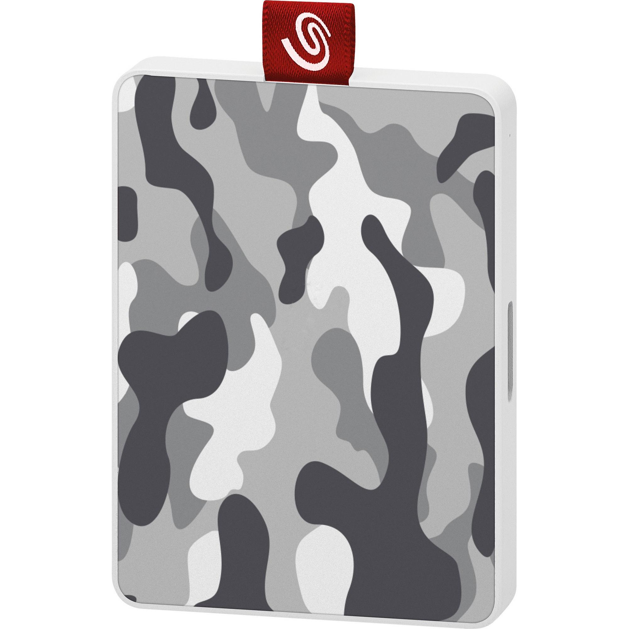 Жесткий диск Seagate One Touch SE 500GB STJE500404 Камуфляж серо-белый фото