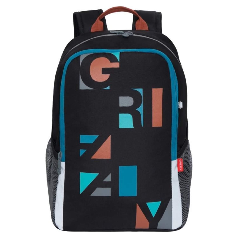 Рюкзак школьный Grizzly терракотовый фото