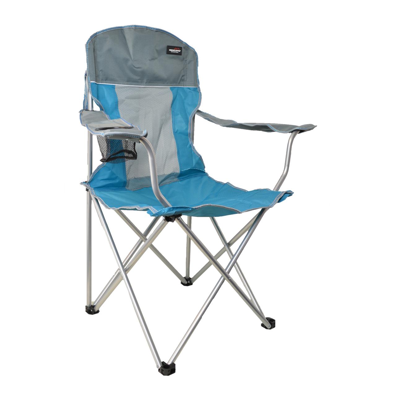 Кресло для кемпинга с держателем для бутылок Koopman camping