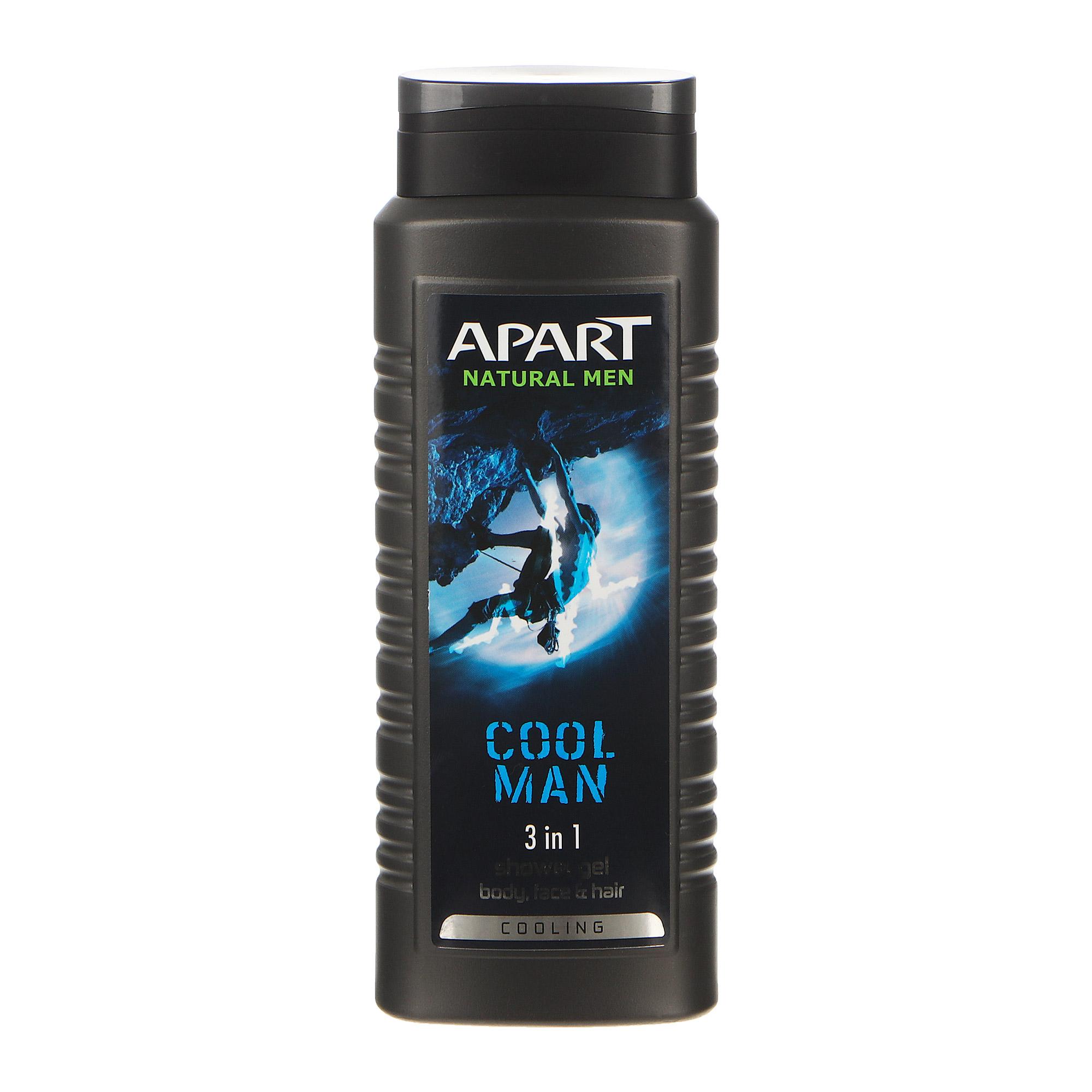 Гель 3в1 с пребиотиками Apart cool man 500мл