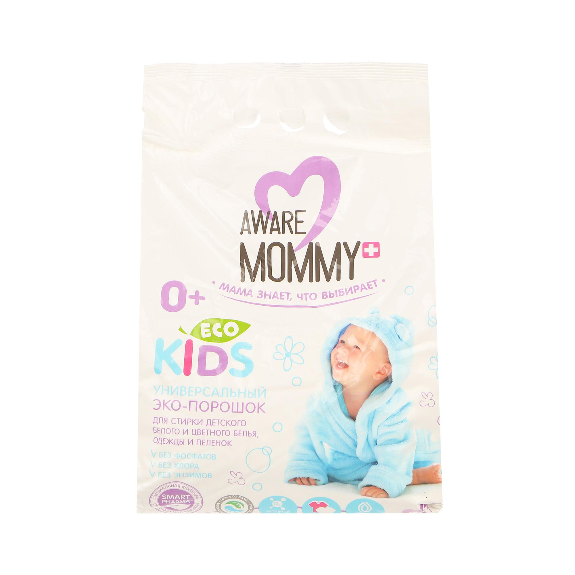 Порошок для стирки детского белья Aware mommy eco kids 3кг фото