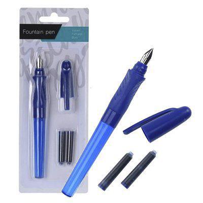 Ручка перьевая синяя Koopman 15 см фото
