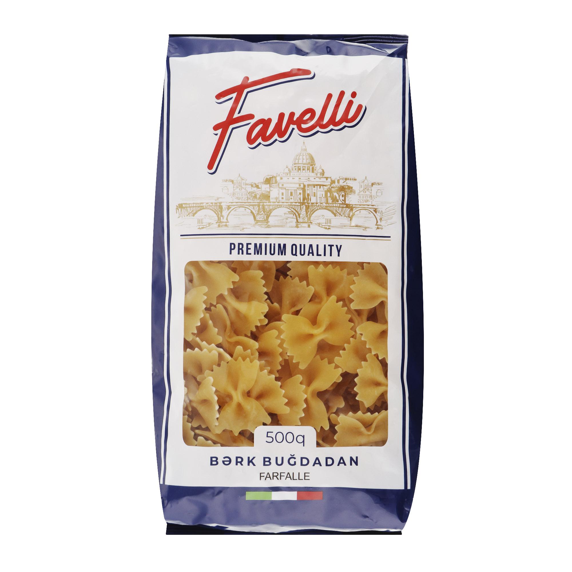 Макароны Favelli Бабочка 500 г макароны arrighi ньокетти 500 г